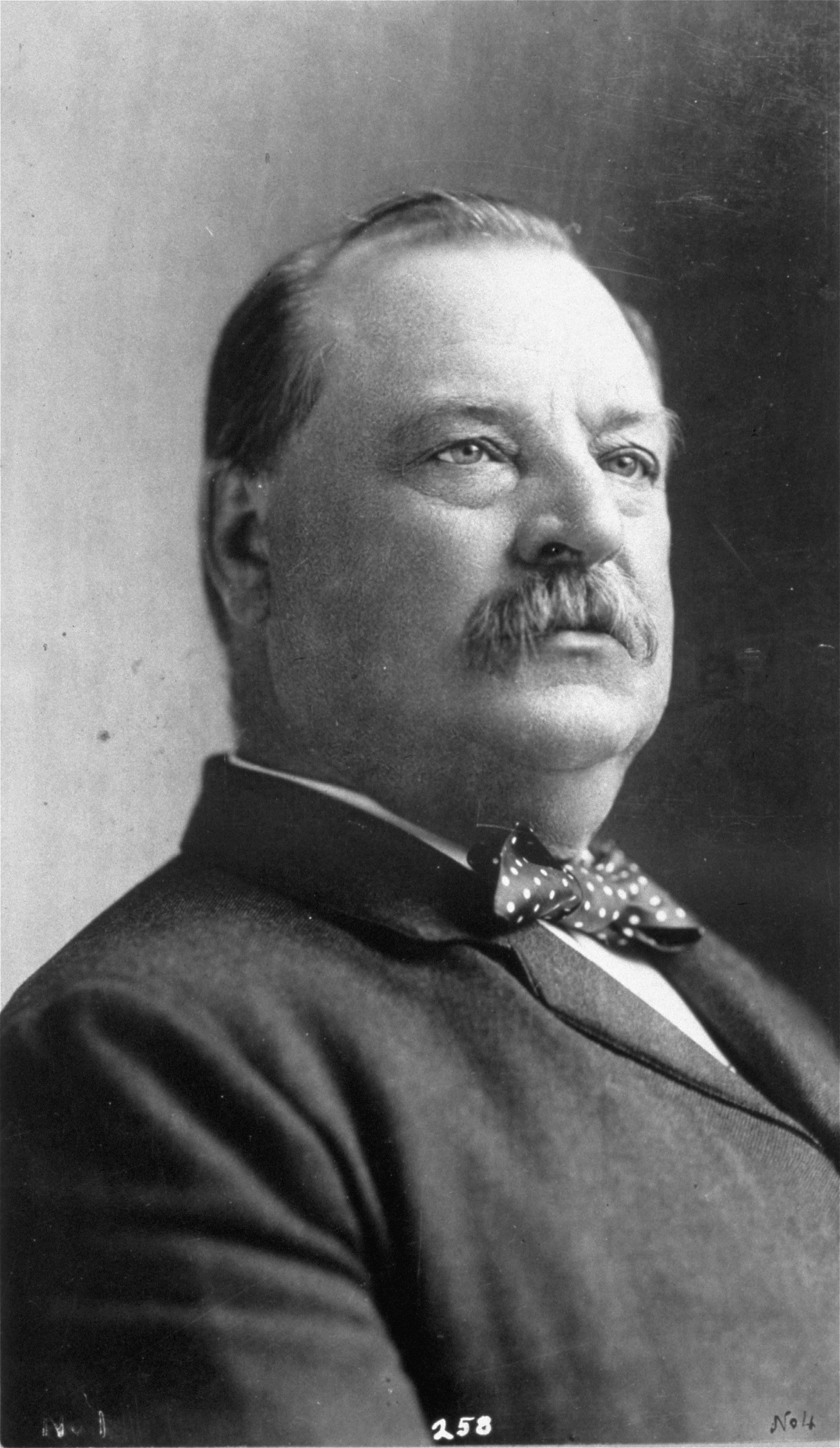 An undated portrait of Grover Cleveland, 22nd president of the United States.