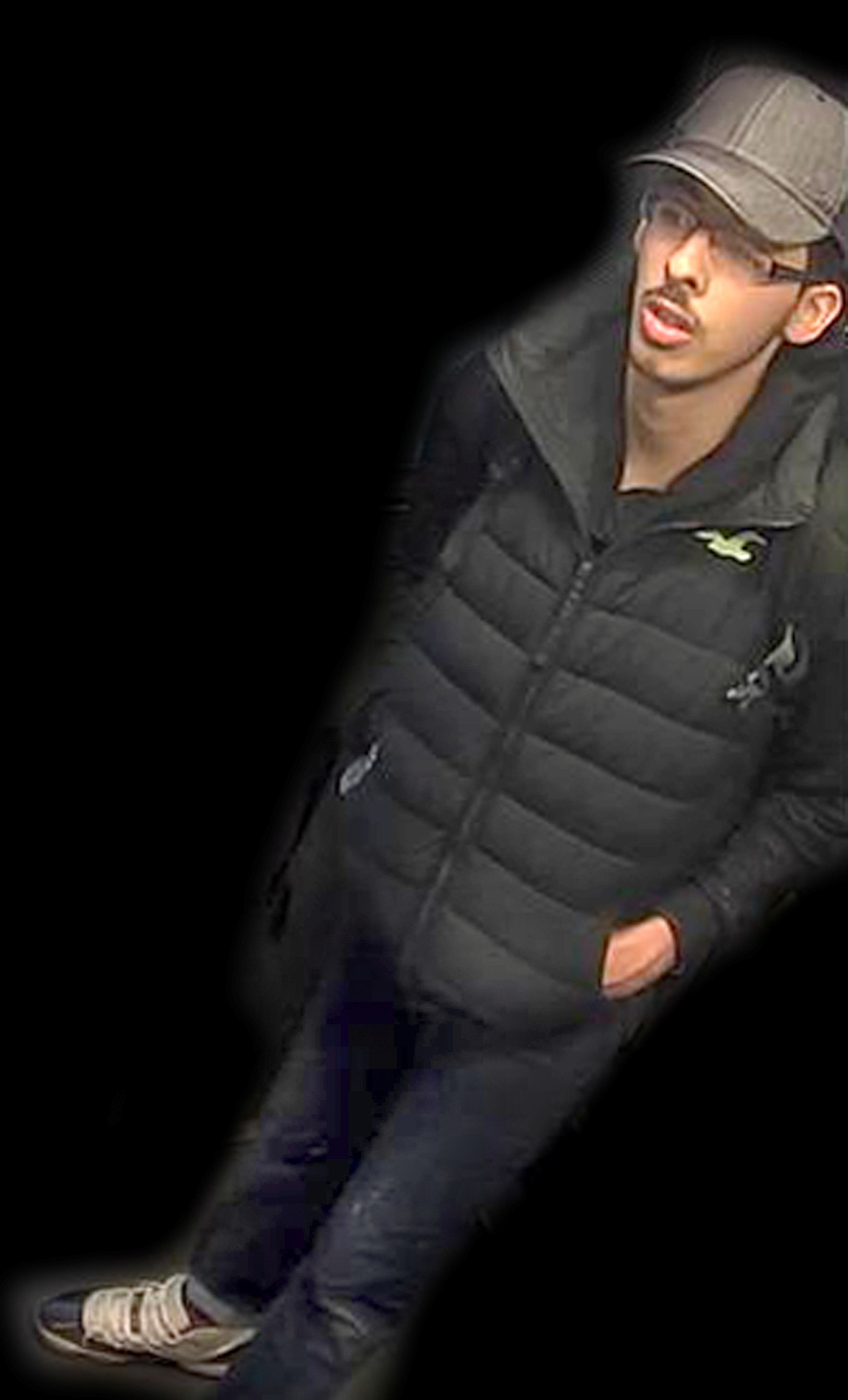 Salman Abedi, the bomber behind the Manchester suicide bombing, is seen in this image taken from CCTV on the night he committed the attack in this handout photo released, May 27, 2017, from the Greater Manchester Police.