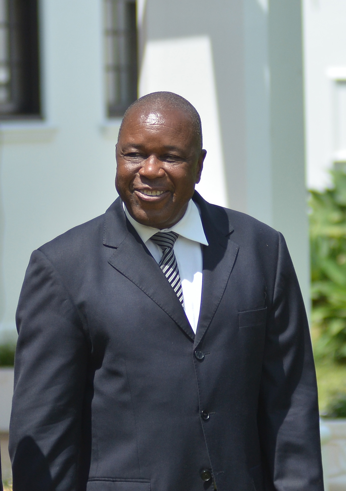 Christopher Mutsvangwa, Zimbabwe Deputy Minister of Foreign Affairs, Washington, DC, August 4, 2014. (Sebastian Mhofu/VOA)