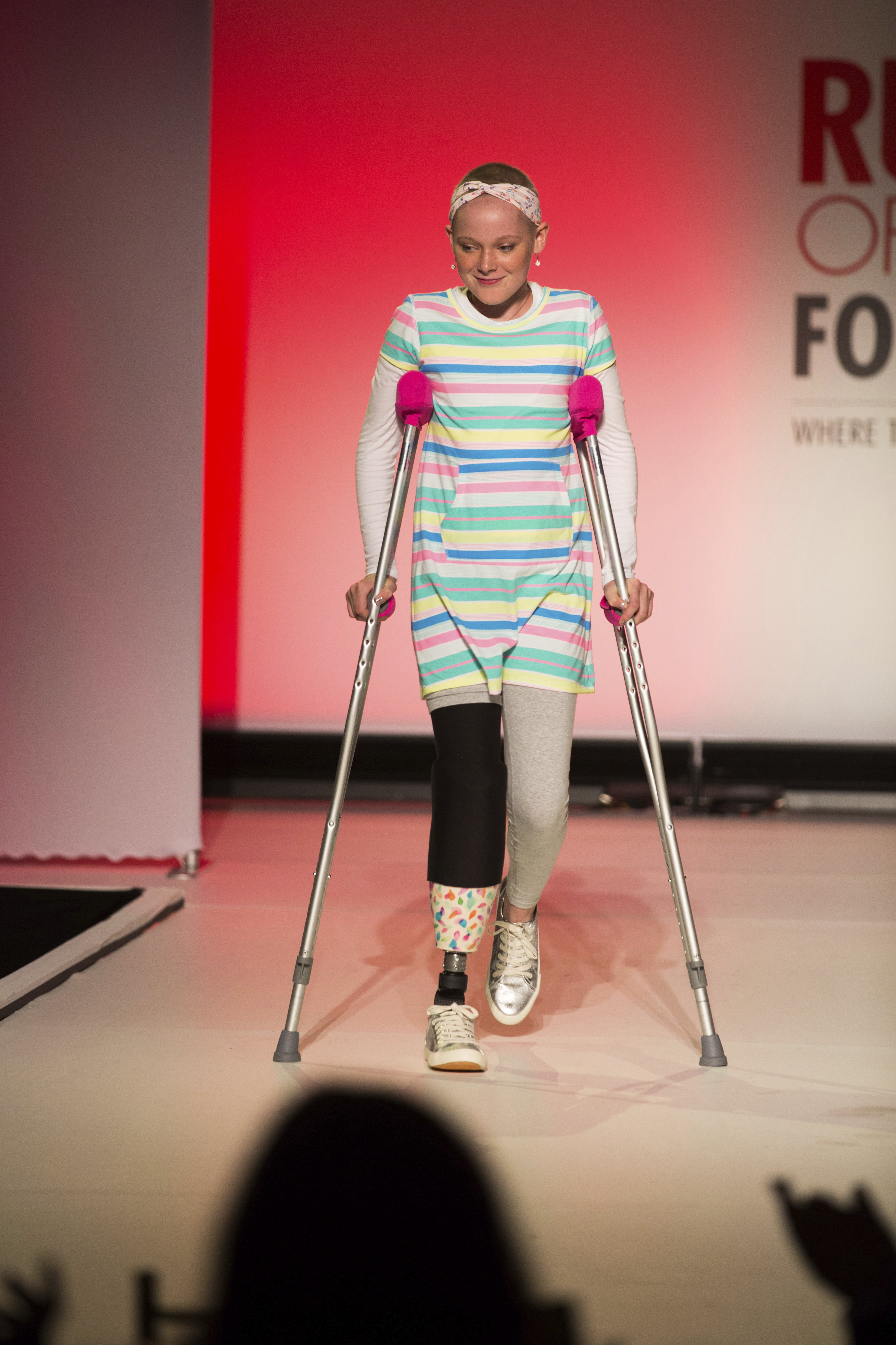 The Runway of Dreams collection is modeled, Sept. 5, 2018, during Fashion Week in New York.