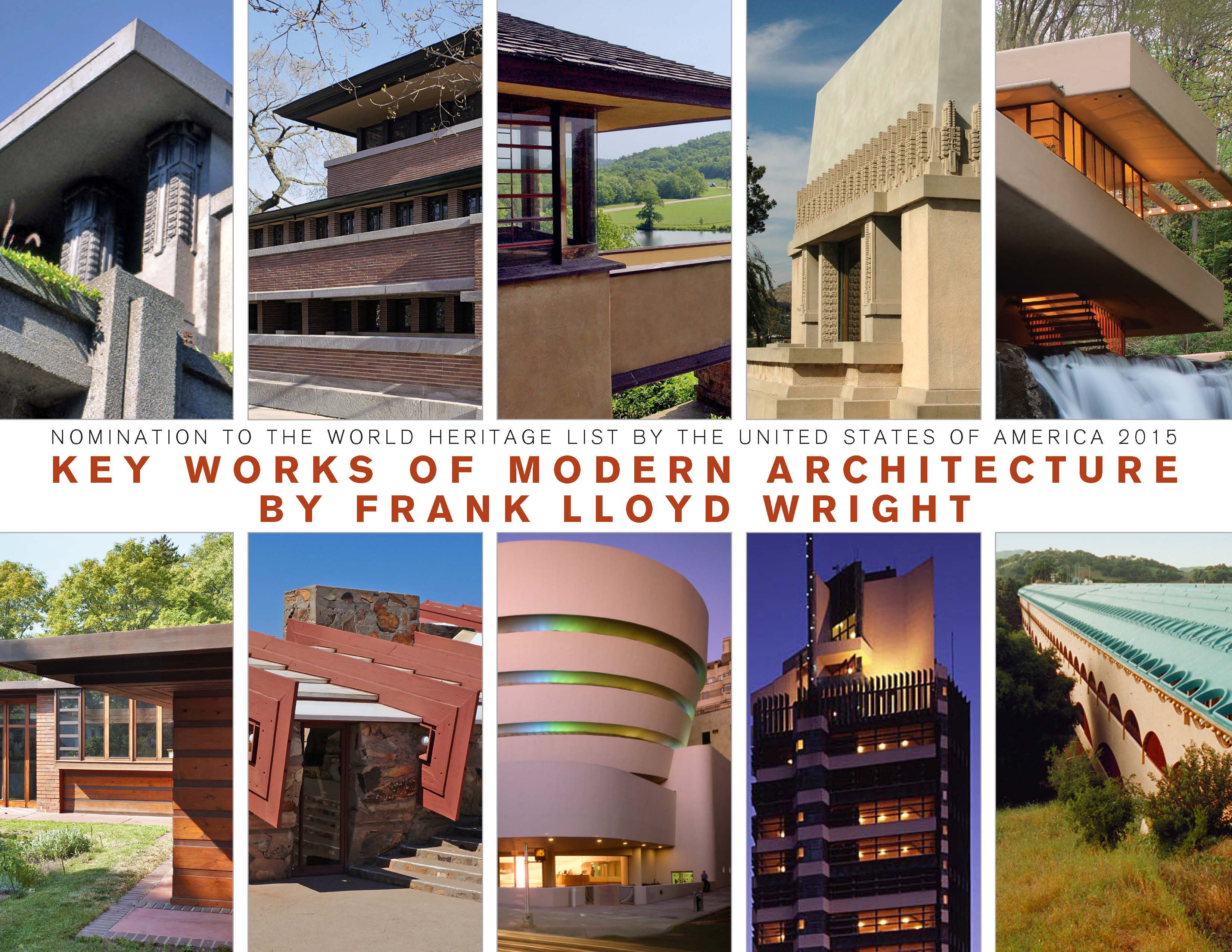 Us Seeks World Heritage Status For Frank Lloyd Wright Buildings