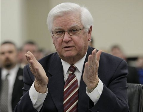 US Rep. Hal Rogers, R-Kentucky, testifies in front of a Senate panel in Frankfort, Kentucky (File Photo -  February 3, 2011)