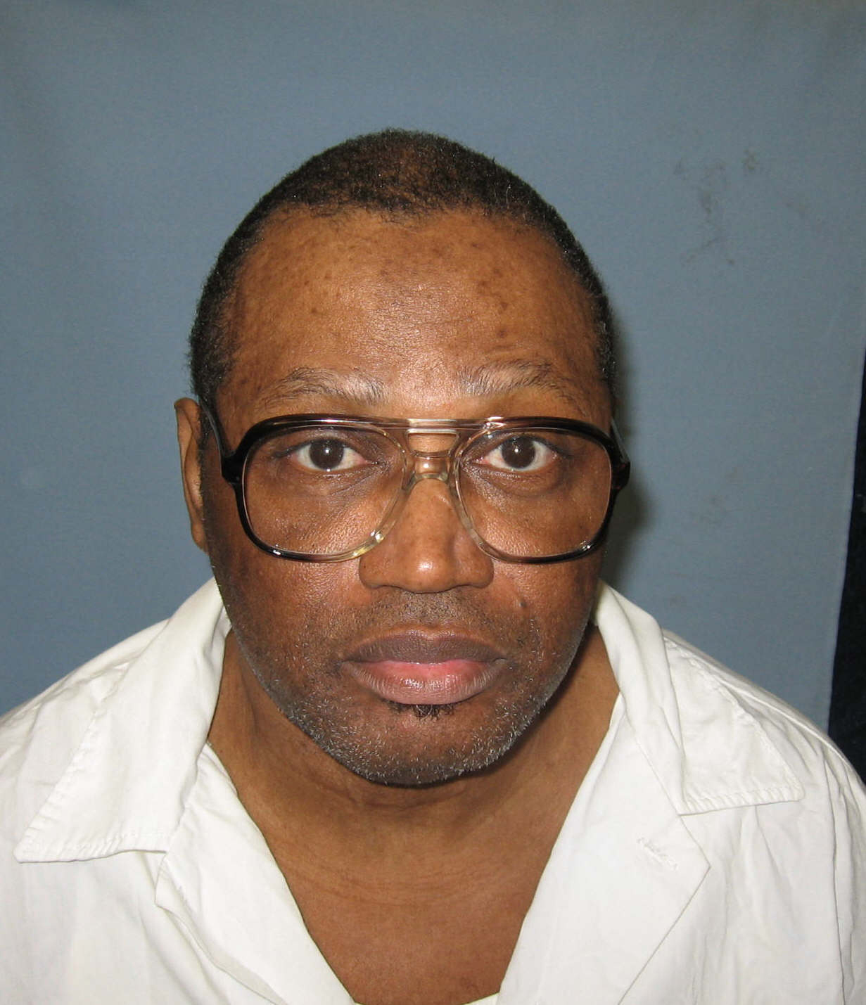 FILE - An undated photo provided by the Alabama Department of Corrections shows inmate Vernon Madison.