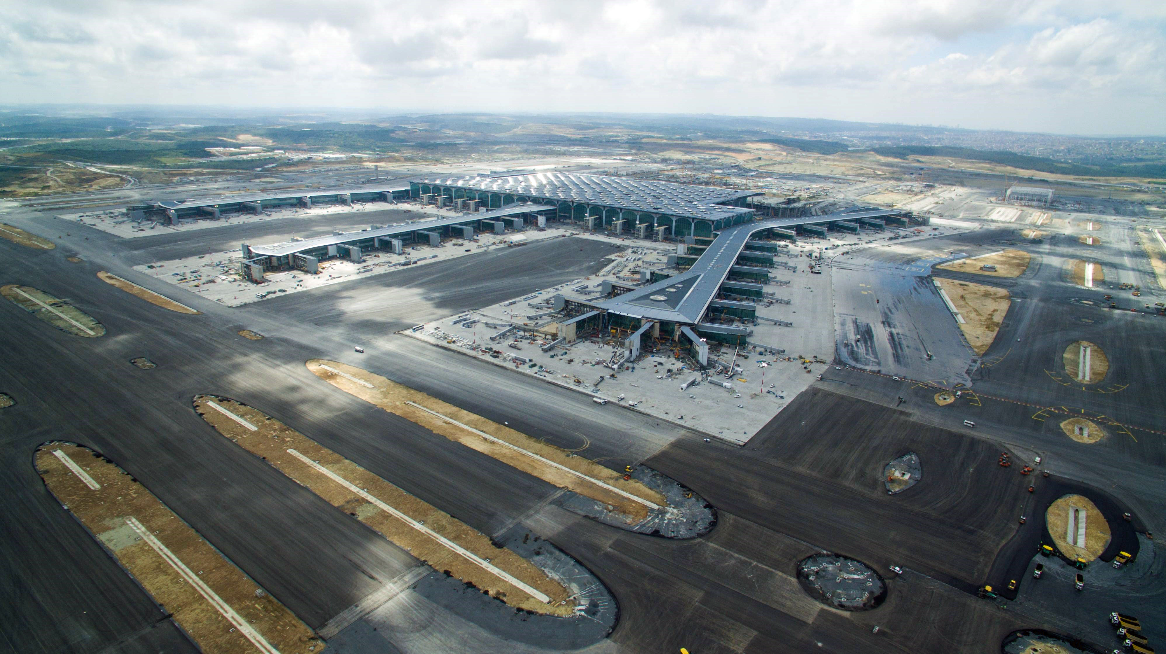 Last month saw the opening of Istanbul airport touted as one of world's largest, mega projects are seen as a bid to support the ailing construction in Turkey.