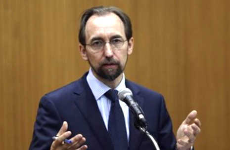 MIGRANT STORY MAP - Oct 7 U.N. High Commissioner for Human Rights Zeid Ra'ad Al Hussein (PHOTO SIZE AND RATIO NOT SUITABLE FOR ARTICLES)