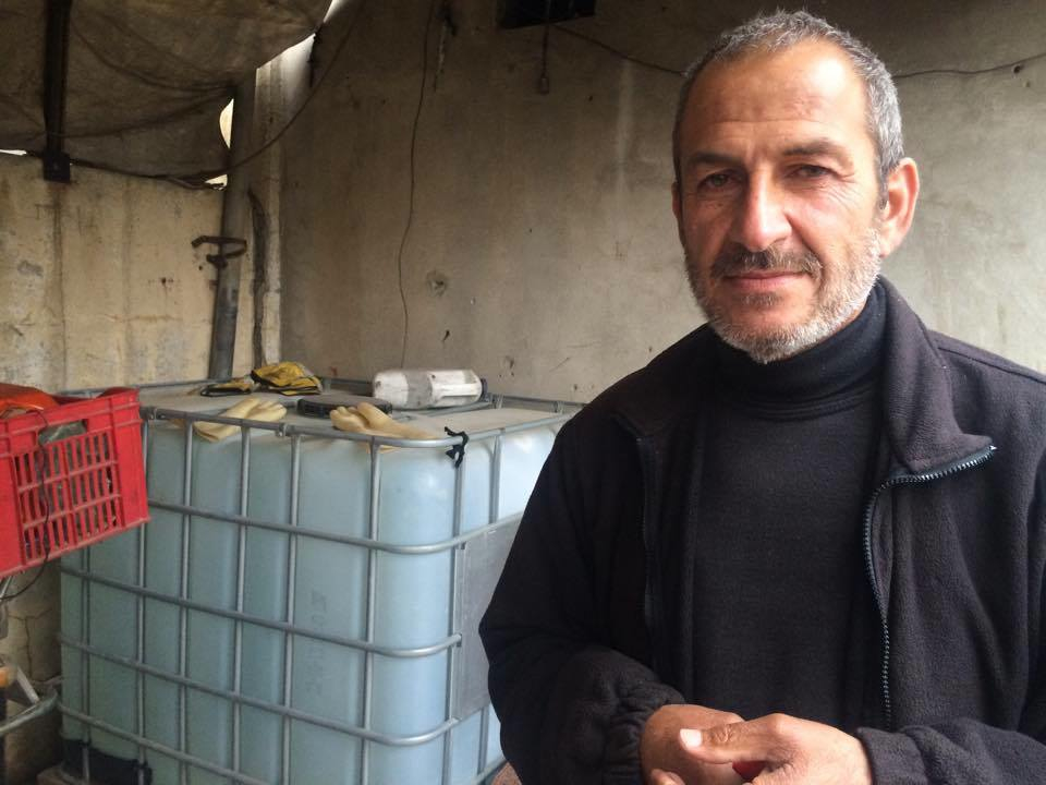 Yahya Kassim, 51, says he was tested for chemical poisoning weeks ago after his house was bombed, but he still hasn't seen any results in Mosul, Iraq, March 22, 2017. (H. Murdock/VOA)