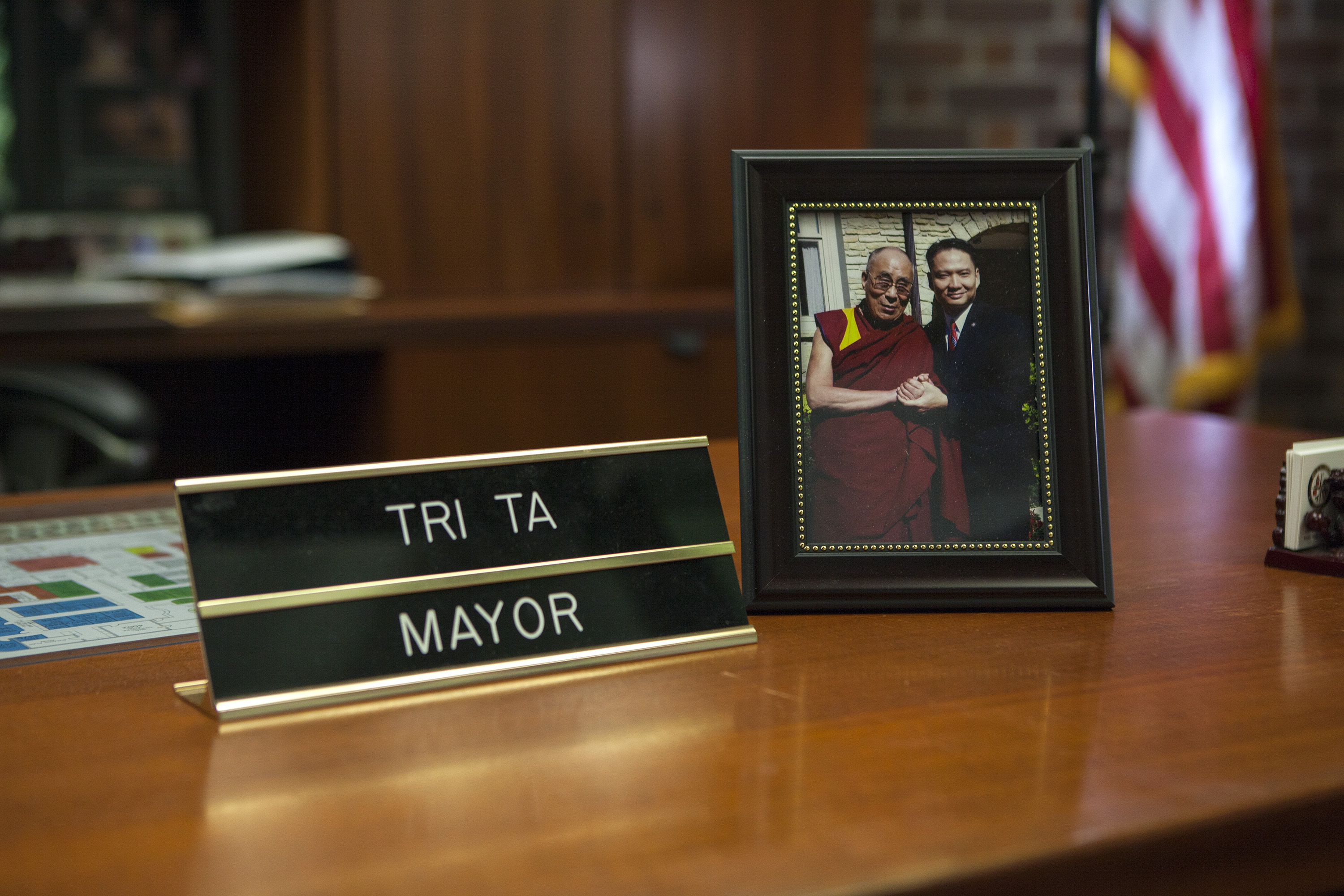 Mayor Tri Ta of Westminster, California