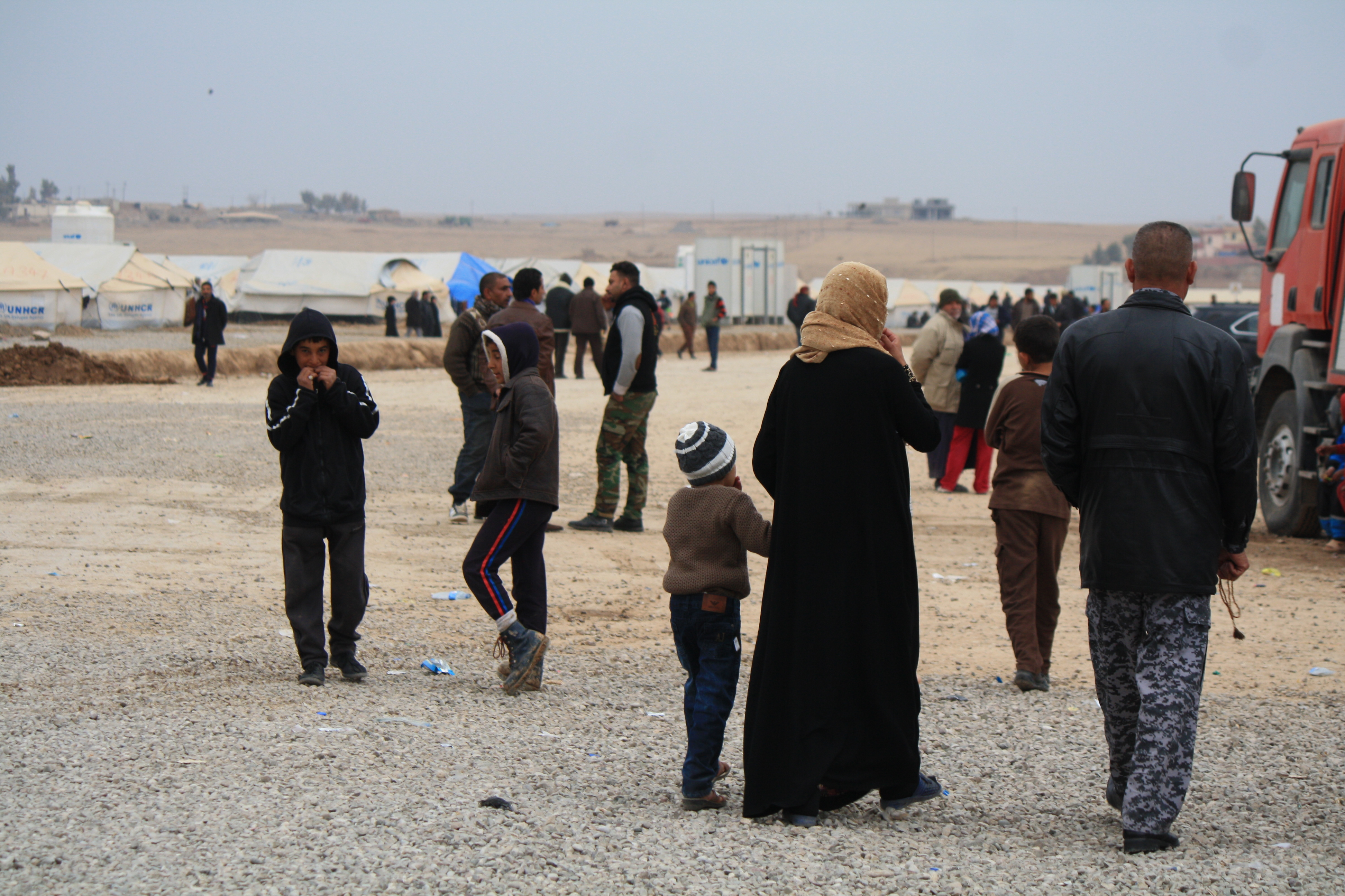 The International Organization for Migration says nearly 94,000 people have fled their homes since the Mosul offensive began in mid-October. At this desolate refugee camp, many people say a modicum of safety and freedom are worth leaving everything e...