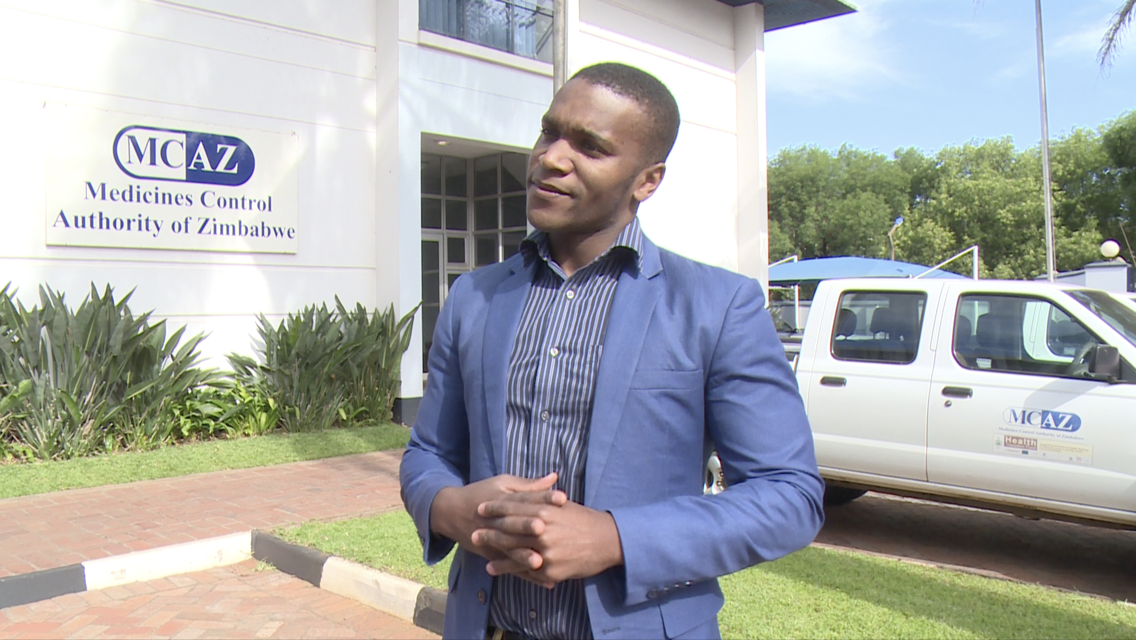 Shingai Douglas Gwatidzo, the Medicines Control Authority of Zimbabwe spokesman warns citizens against seeking out black market medical drugs.