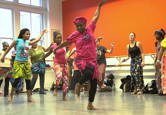 Keur Khaleyi brings West African dance performances and classes to Baltimore. (Keur Khaleyi)