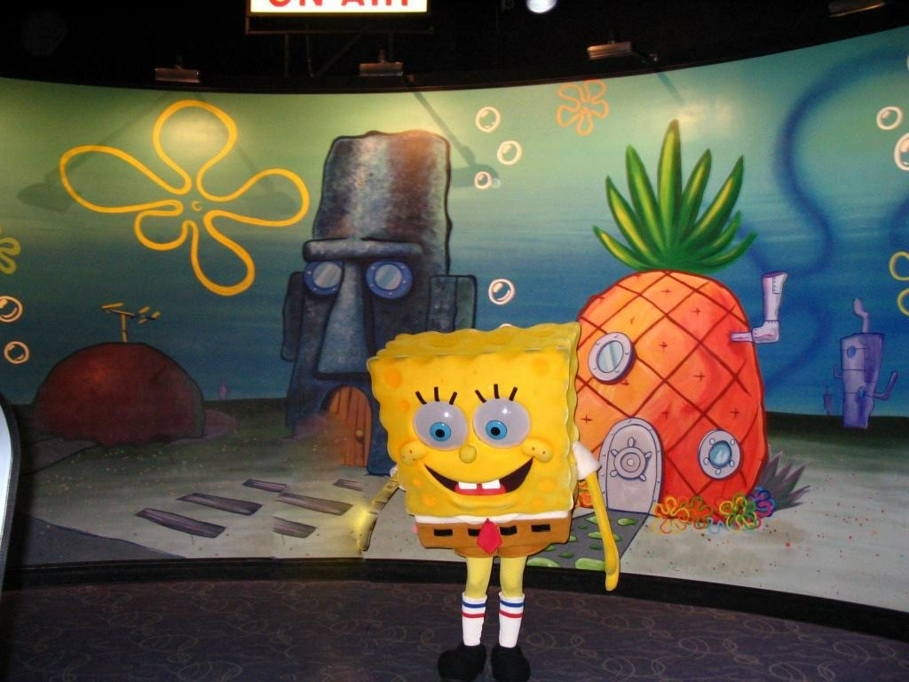 SpongeBob SquarePants animation character, SpongeBob SquarePants, is seen at Universal Studios, Disney Land, in Orlando, Florida. (Photo: Diaa Bekheet)