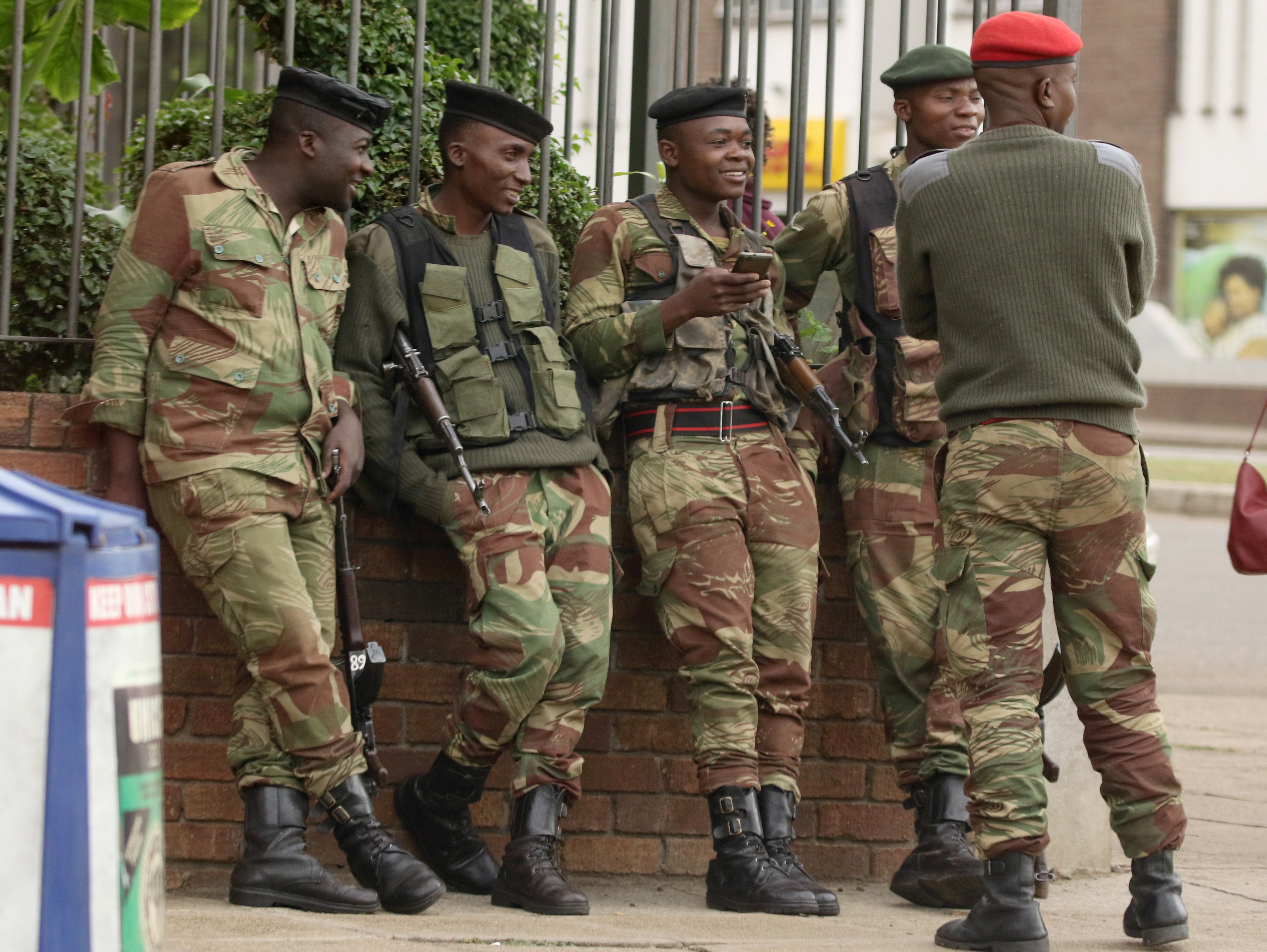 zimbabwes army takes power - HD 4377×3289