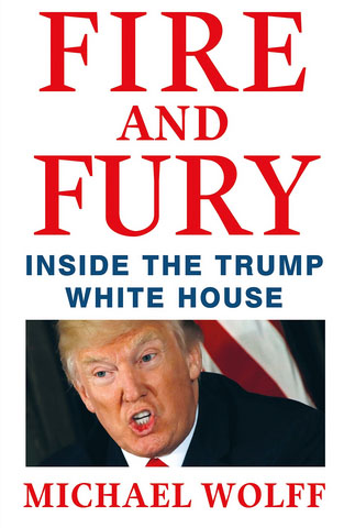 A screenshot of Michael Wolff's book, Fire and Fury: Inside the Trump White House, as featured on Amazon's web site, Jan. 4, 2018.