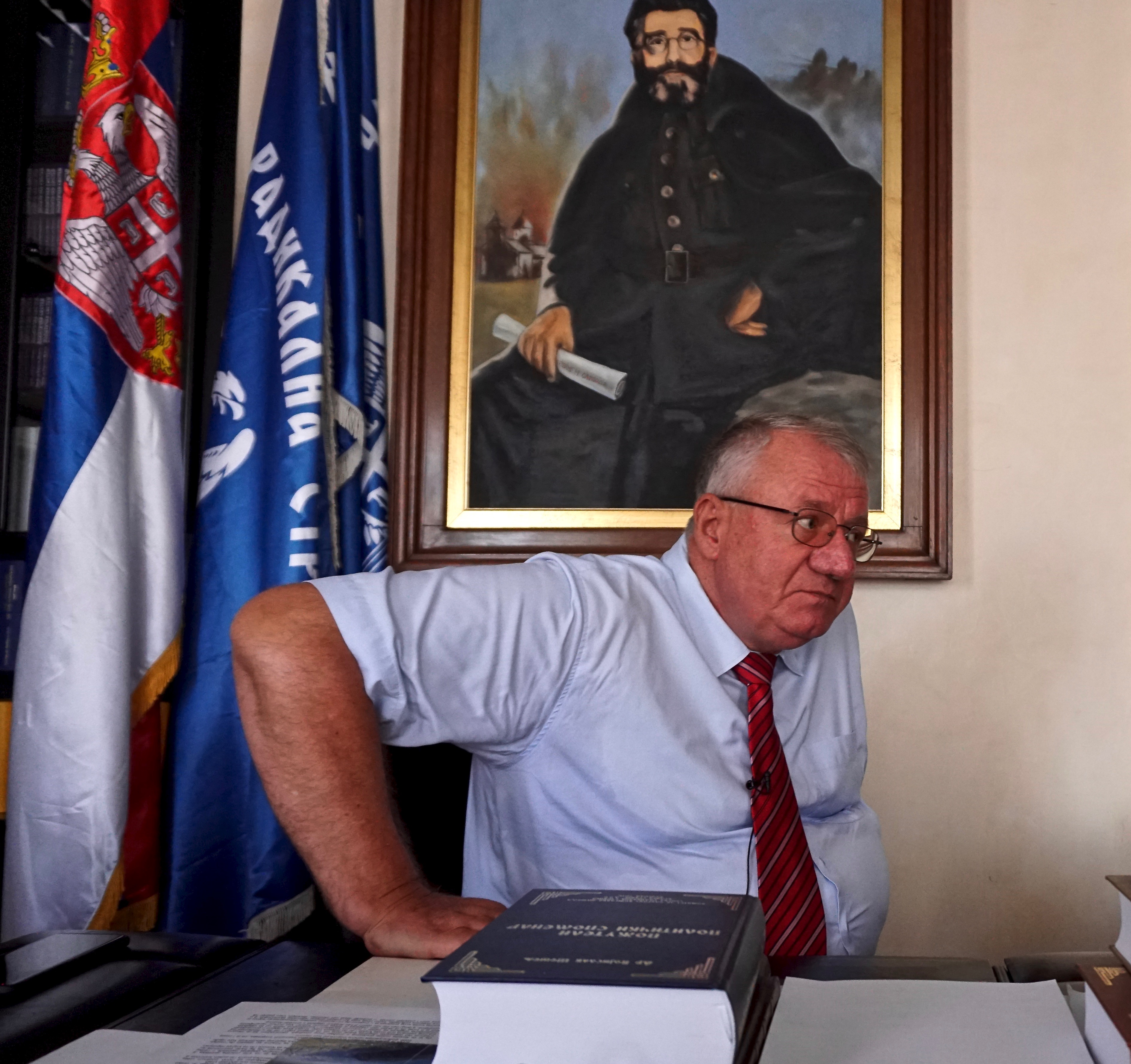 Serbia's main opposition leader Vojislav Šešelj is engaged on a monumental three-volume work proving that the 1995 Srebrenica massacre of more than 8,000 Bosniaks, mainly men and boys, wasn't an act of genocide by Serbs. He does admit it was a ...