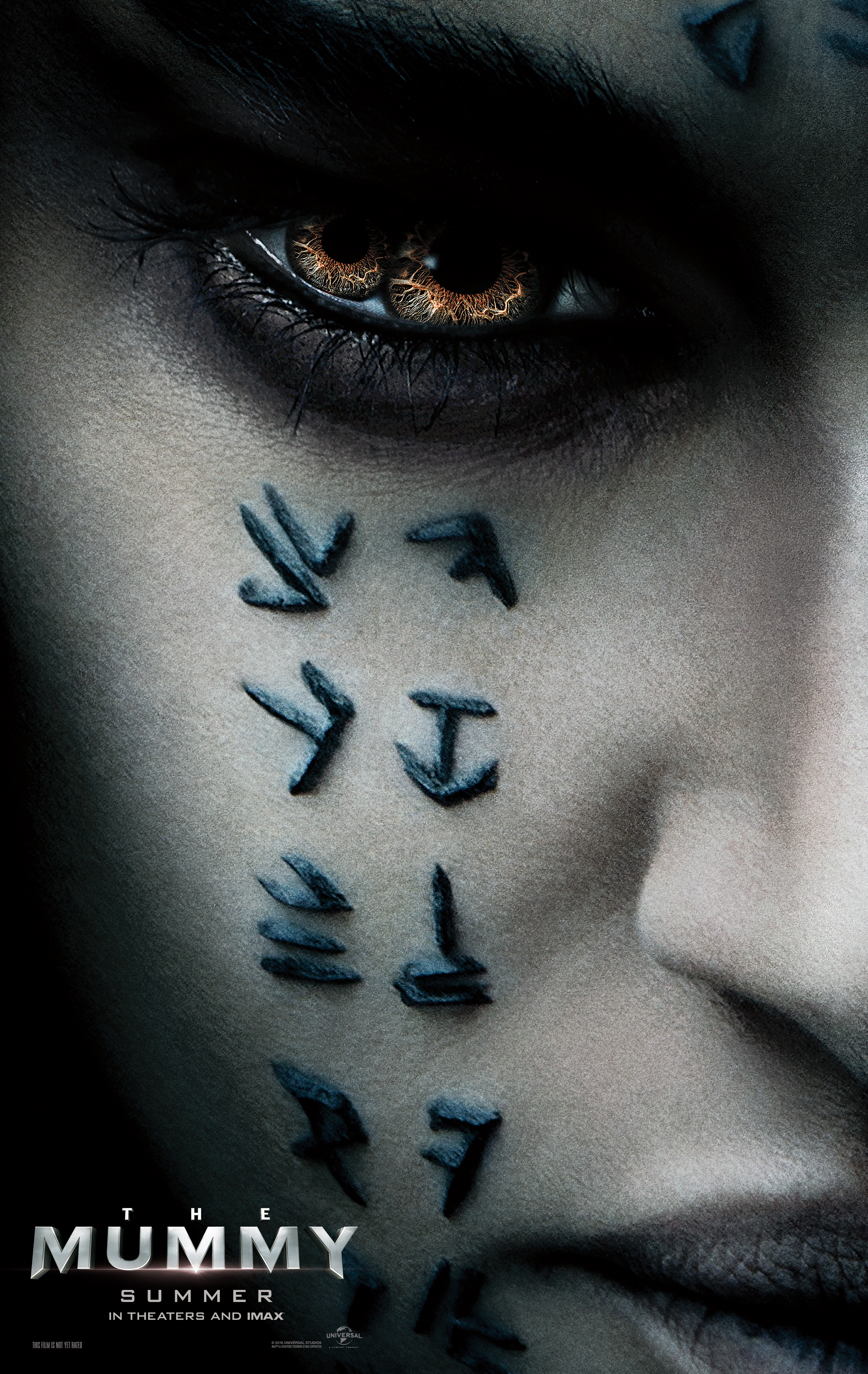 """Sofia Butella plays ancient Egyptian Princess Ahmanet, who wakes up from the dead and unleashes her rage on humanity because her father broke his promise to her and did not make her Pharaoh, in """"The Mummy."""""""