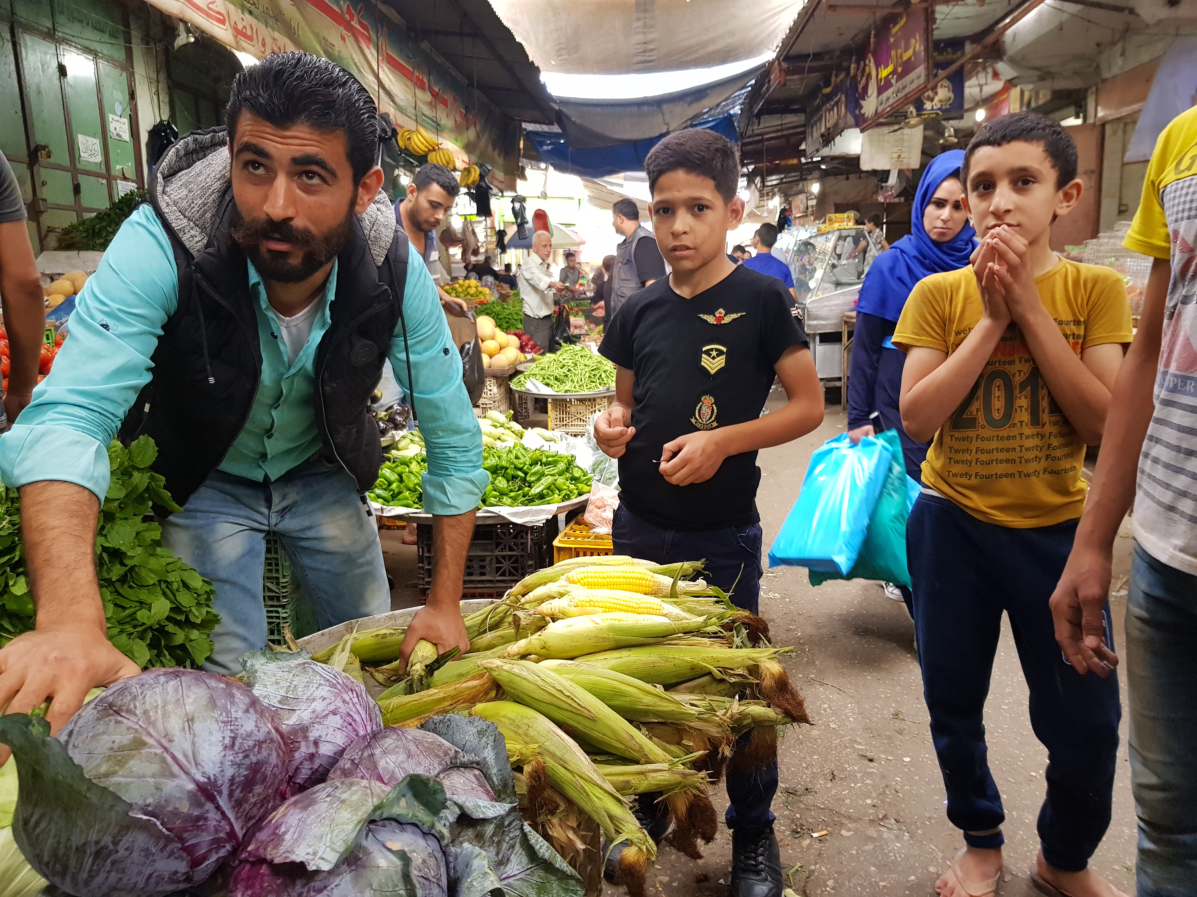 As Ramadan begins, markets are open for the first time this week, but business owners say consumers are poorer than ever and sales are slow in Gaza on May 16, 2018.