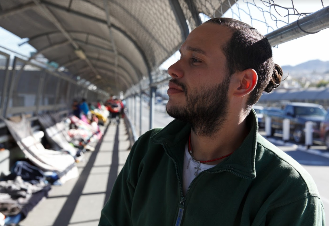 "Eddy Gonzalez is a Cuban migrant who has been on the journey to the U.S. for the past three years. ""If I have been almost three years away from my country, six days sleeping here on the floor, what's three months detained in a prison?"" Gonzalez..."