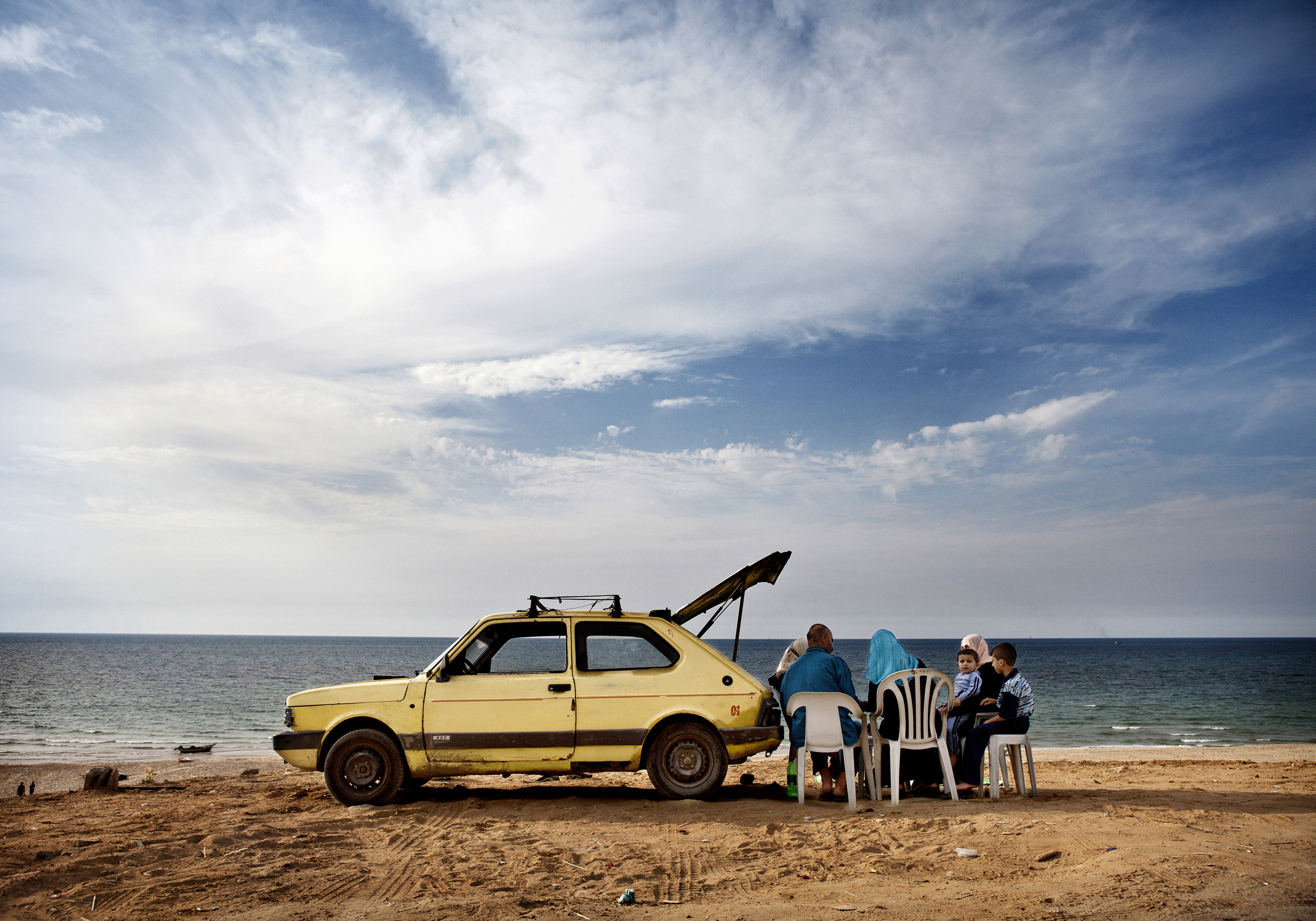 "Tanya Habjouqa, Untitled, from the series ""Women of Gaza,"" 2009; Pigment print, 20 x 30 in.; Museum of Fine Arts, Boston; Museum purchase with general funds and the Horace W. Goldsmith Fund for Photography, 2013.567 (Photo © 2015 Museum of Fine ..."
