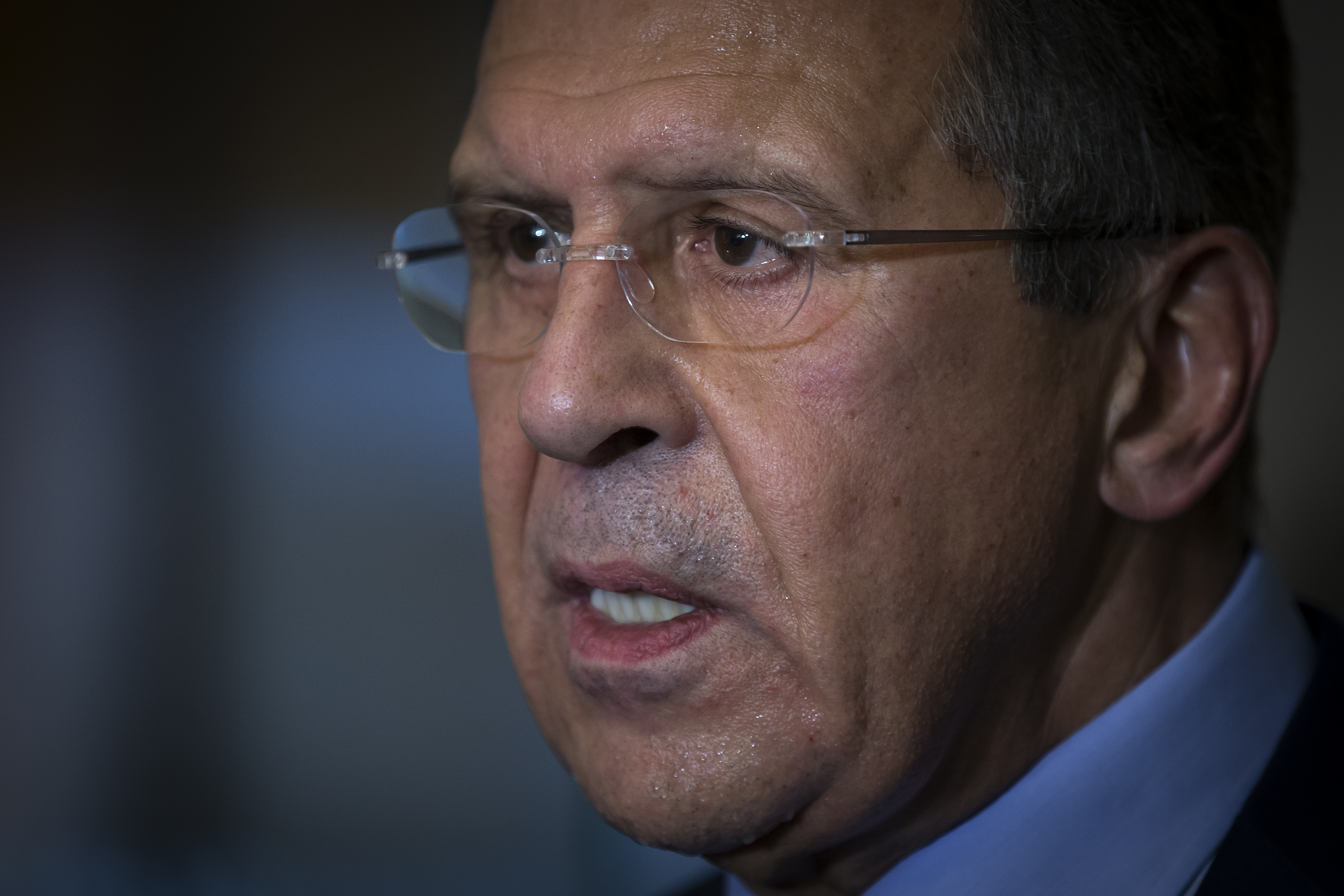 Russian Foreign Minister Sergei Lavrov says Moscow wants Syria to prepare for parliamentary and presidential elections, and he indicates his government will take firm action if necessary to move that process forward.
