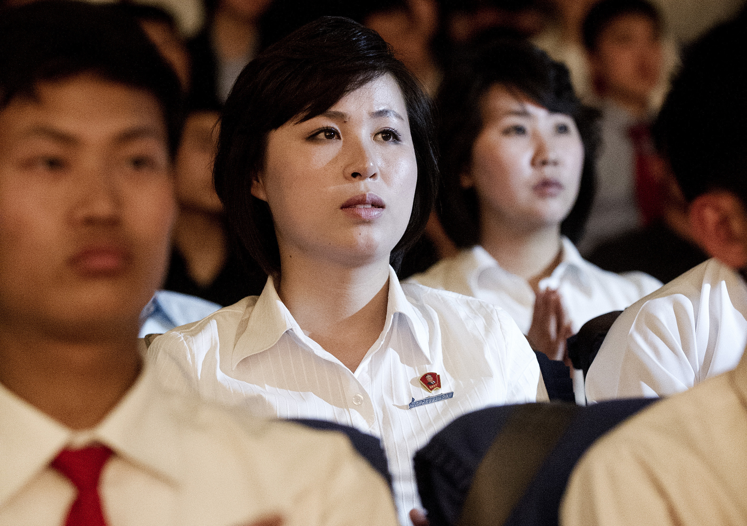 North Korean Audience at Norway Festival