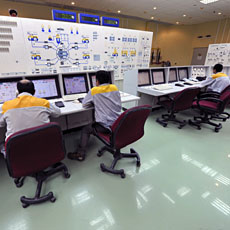 Photo taken August 23, 2010 shows Iranian technicians working at Bushehr nuclear power plant, outside the southern city of Bushehr. Iran's nuclear chief said a malicious computer worm known as Stuxnet has not harmed the country's atomic program and a...