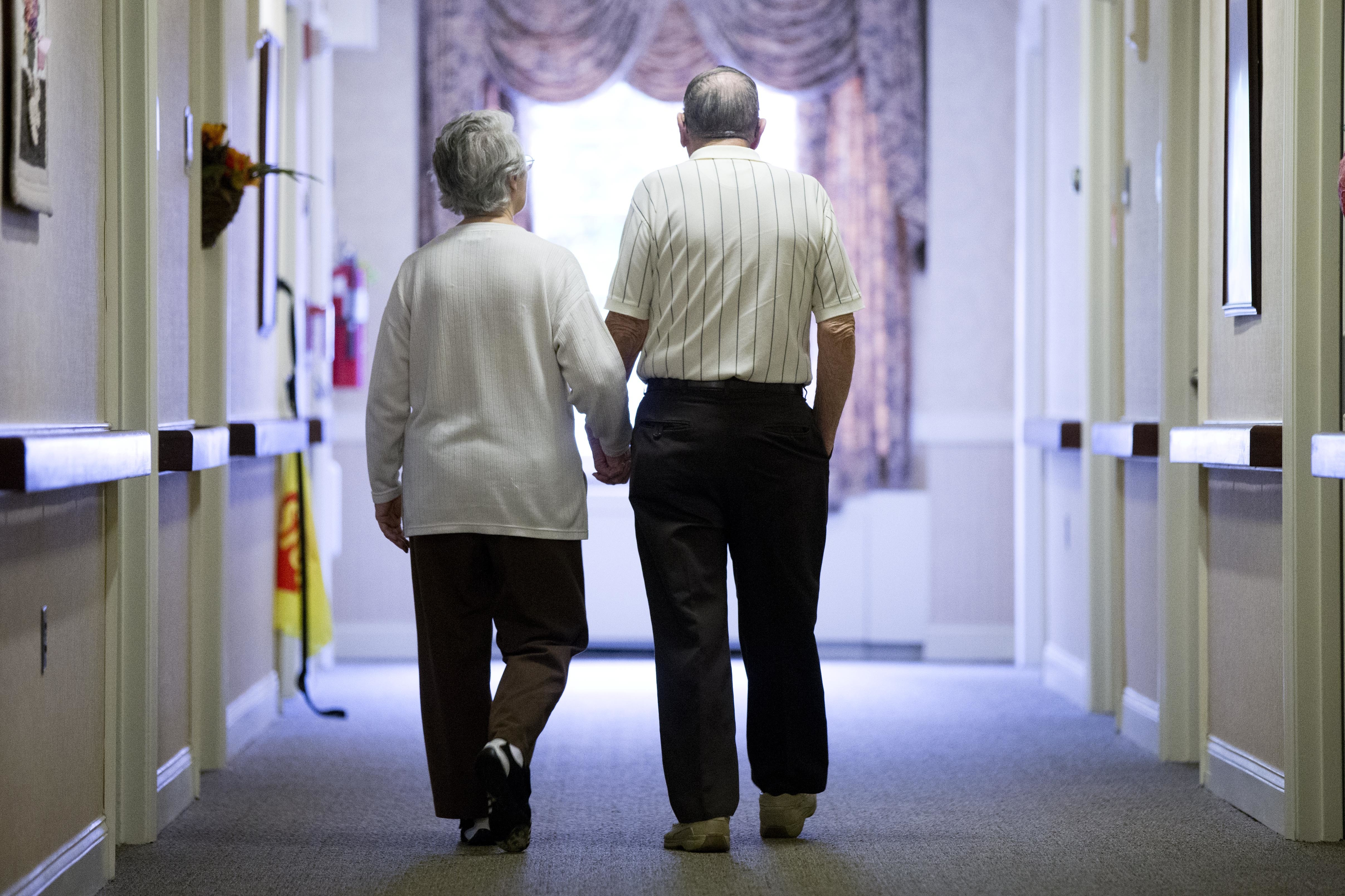 File -- By 2030, 1 in every 5 U.S. residents will be of retirement age, which will fuel the demand for more health care professionals.