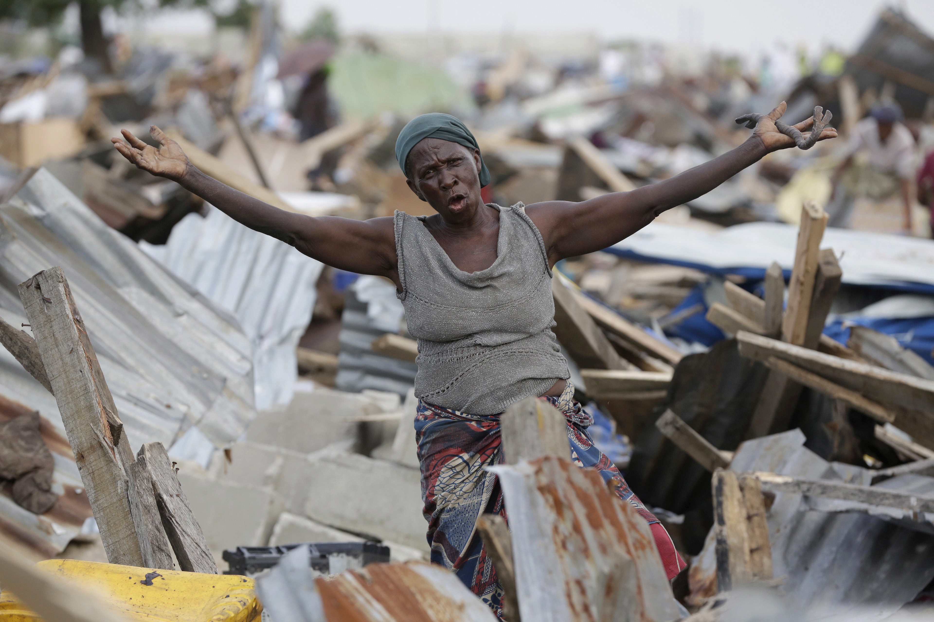 Hard Times for Lagos Slum Dwellers Caught in Race for Land - VOA News