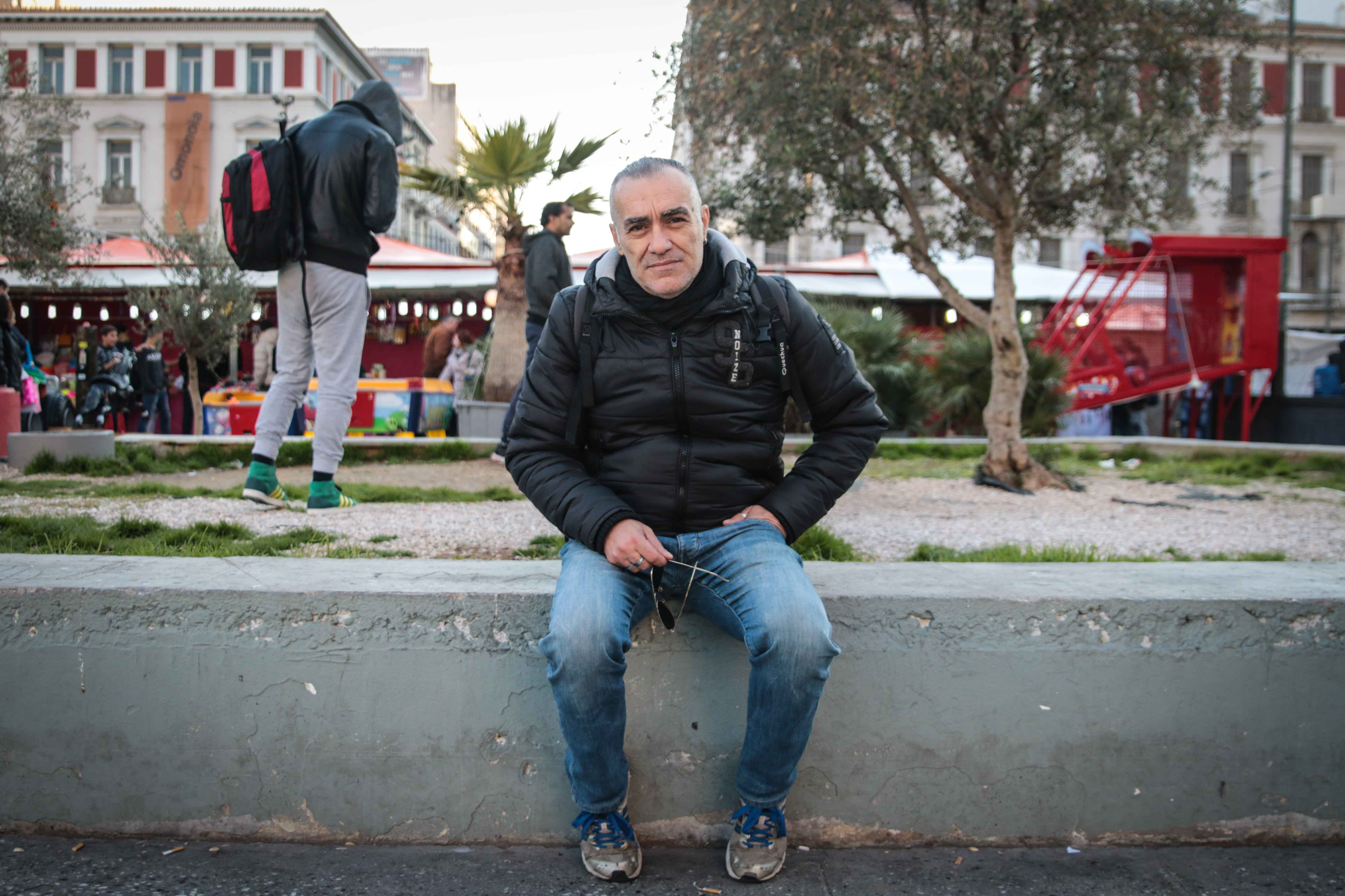 Tassos Smetopoulos, a social worker, is critical of what he sees as the failure of the authorities and NGOs to address the growth of survival sex among refugees and migrants. (Photo: J. Owens for VOA)