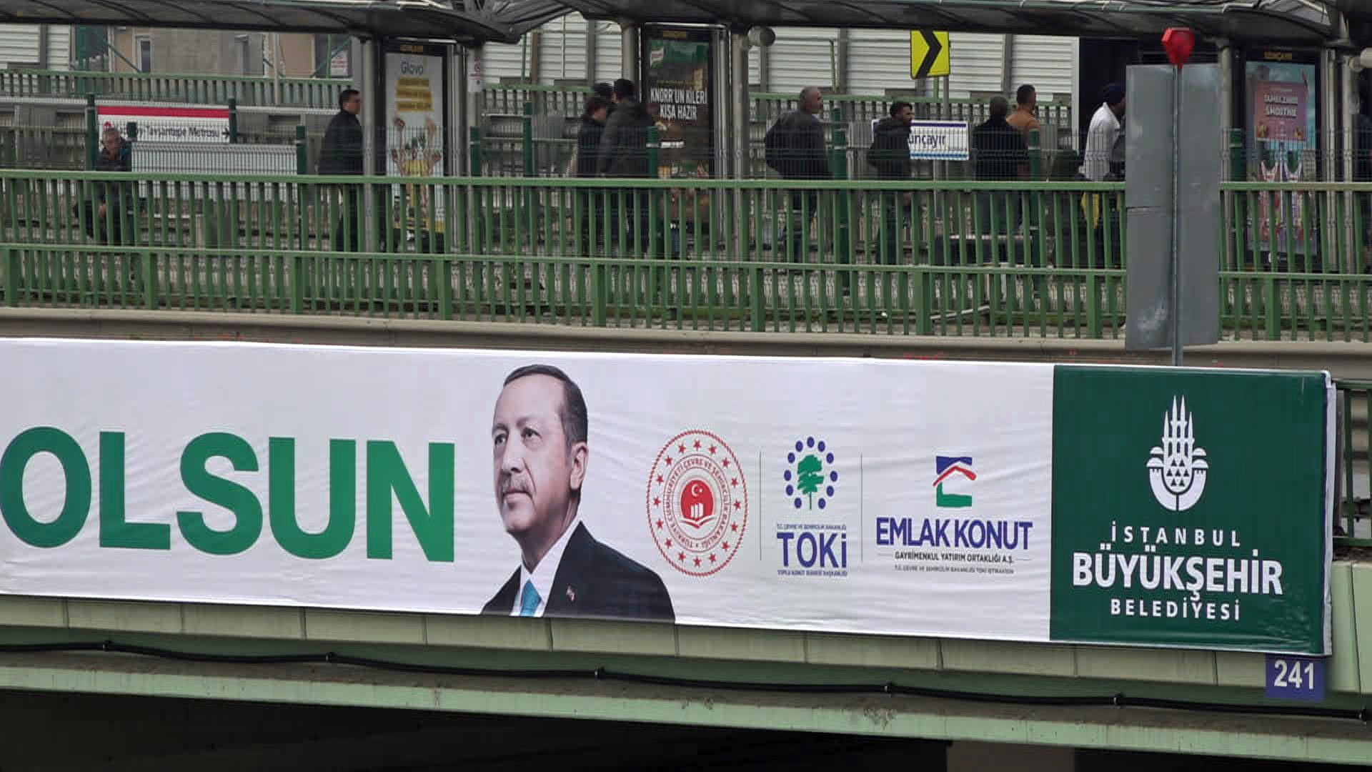 The construction boom has been the engine for economic prosperity and electoral success for President President Recep Tayyip Erdogan.