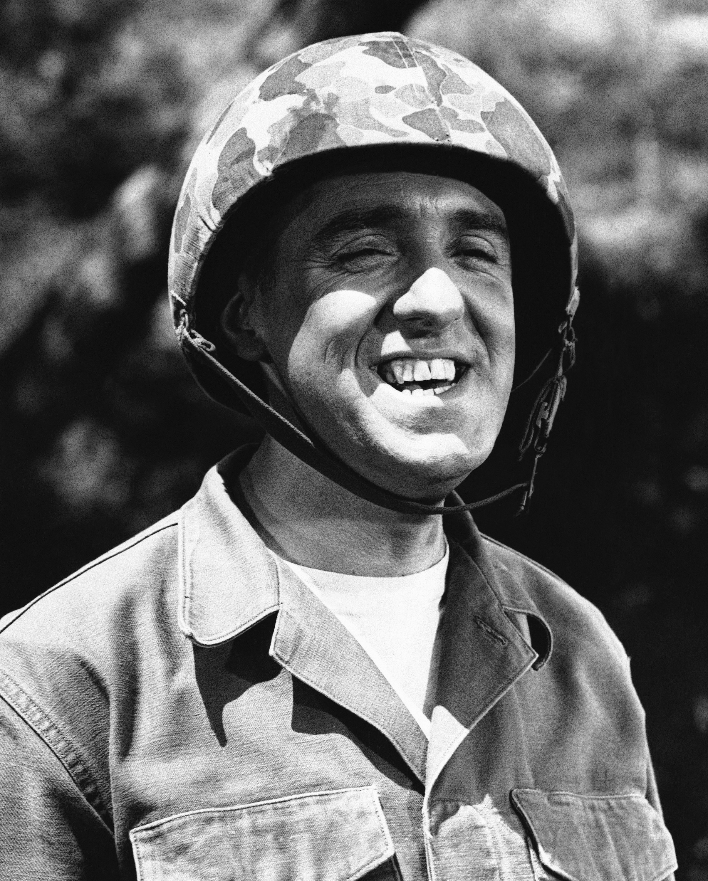 FILE - Jim Nabors is seen in character for his role of Gomer Pyle in this 1966 file photo.