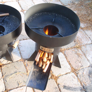 A clean, efficient cookstove designed for low-cost manufacturing in Africa.