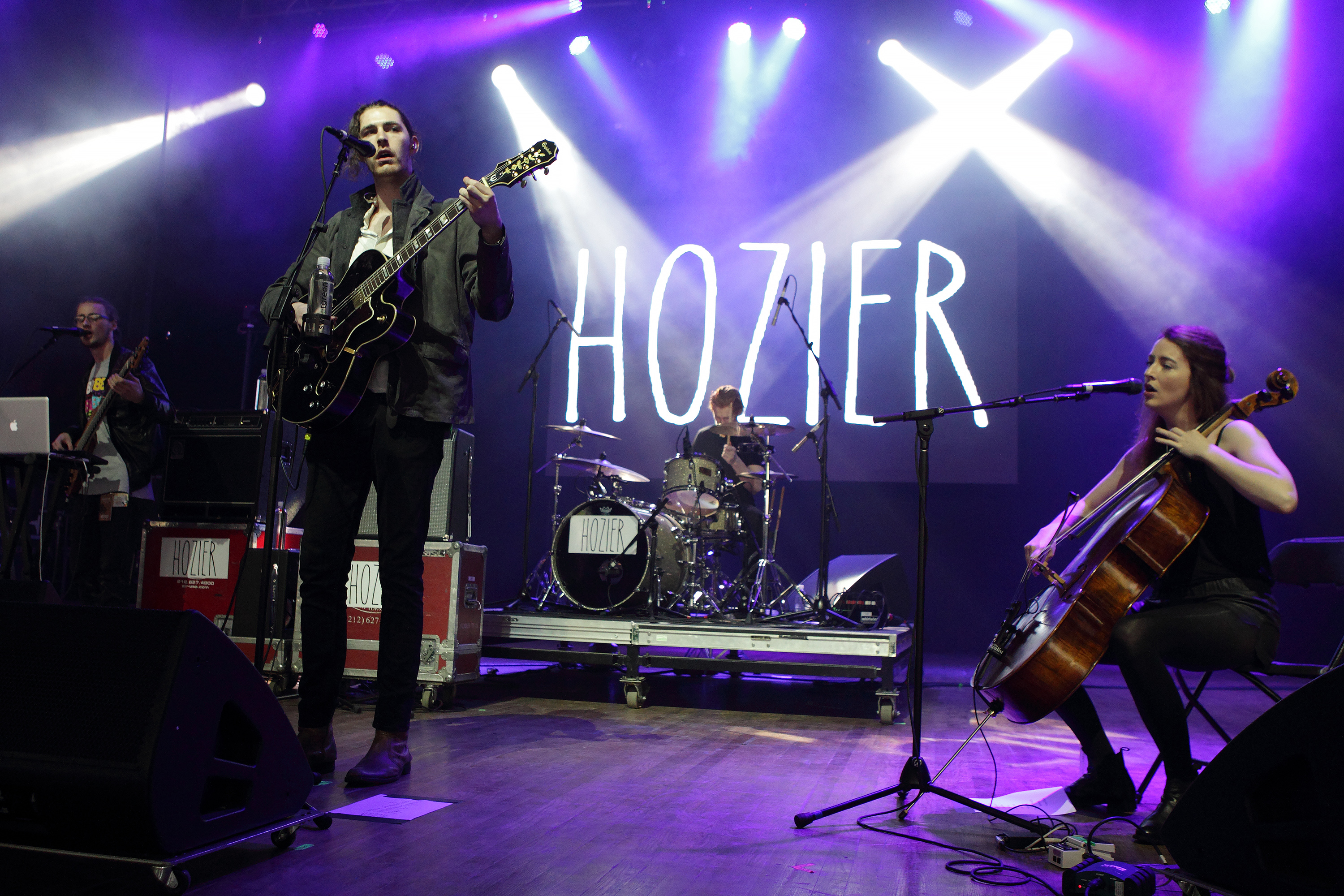 Andrew Hozier-Byrne of the band Hozier performs in concert during the Sweetlife Festival at Merriweather Post Pavilion on May 10, 2014, in Columbia, Md.