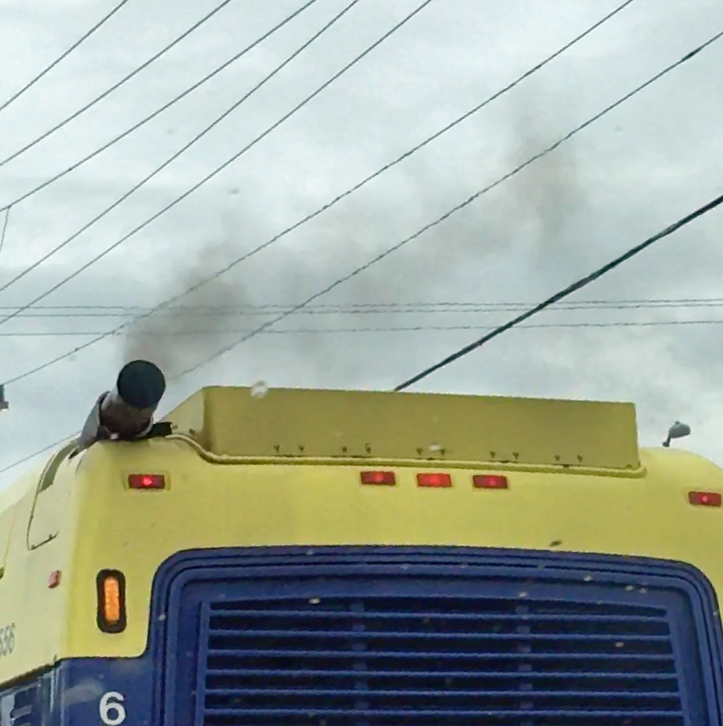 A bus gives off exhaust fumes in Alexandria, Virginia. (Photo by Diaa Bekheet). The World Health Organization reported on Monday Oct. 29, 2018, that more than 90 percent, or nearly 2 billion children under the age of 15, breathe toxic air every day. ...