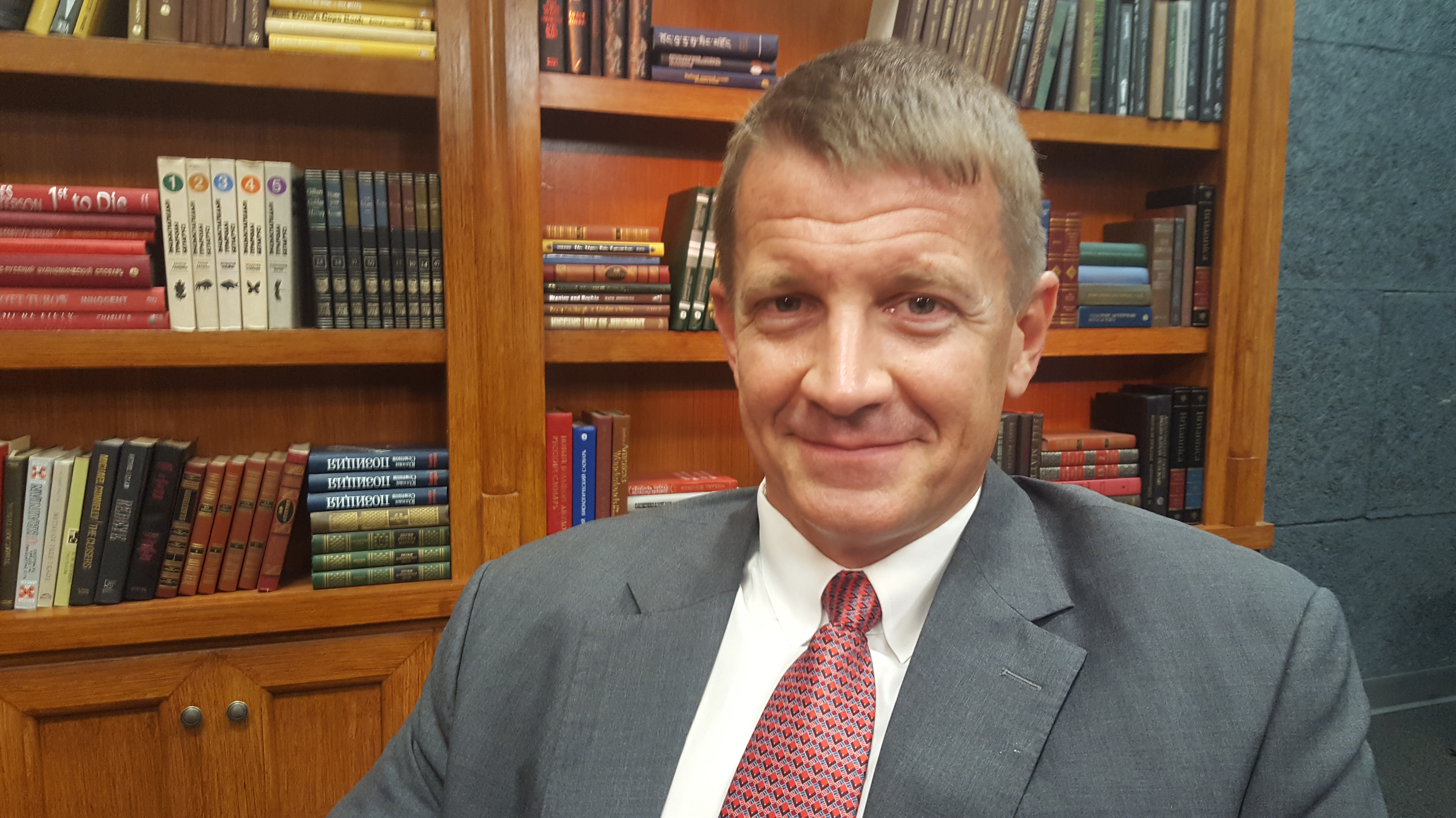 Blackwater founder Erik Prince spoke with VOA about his proposal to privatize a large portion of the U.S. war in Afghanistan. The controversial proposal is being met with growing opposition in Kabul and Washington.