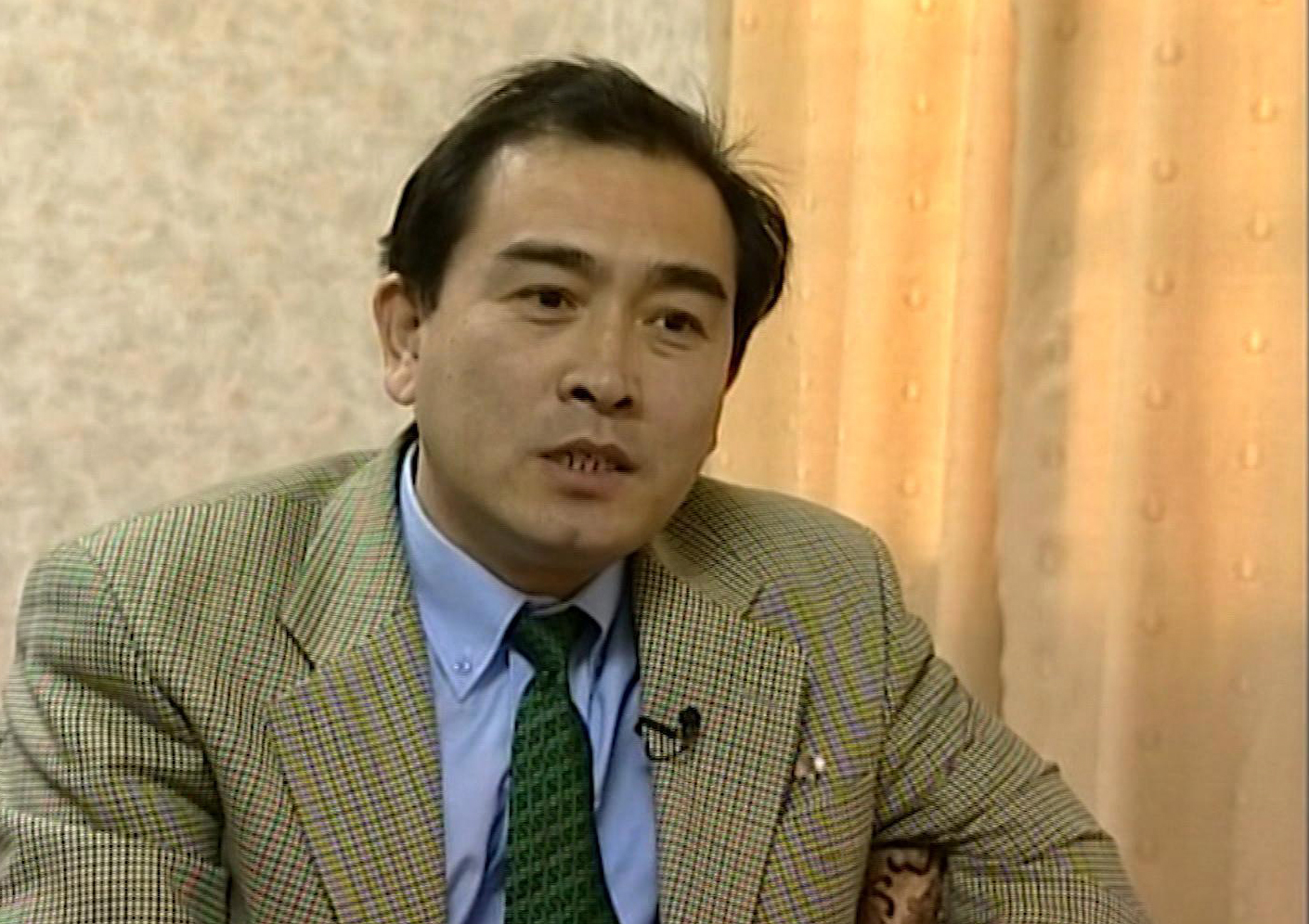 This is an image taken from video taken on April 5, 2004 of Thae Yong Ho,  North Korean diplomat speaking  during an interview in Pyongyang. North Korea diplomat Thae Yong Ho who was based in London has defected, according to South Korean officials. ...