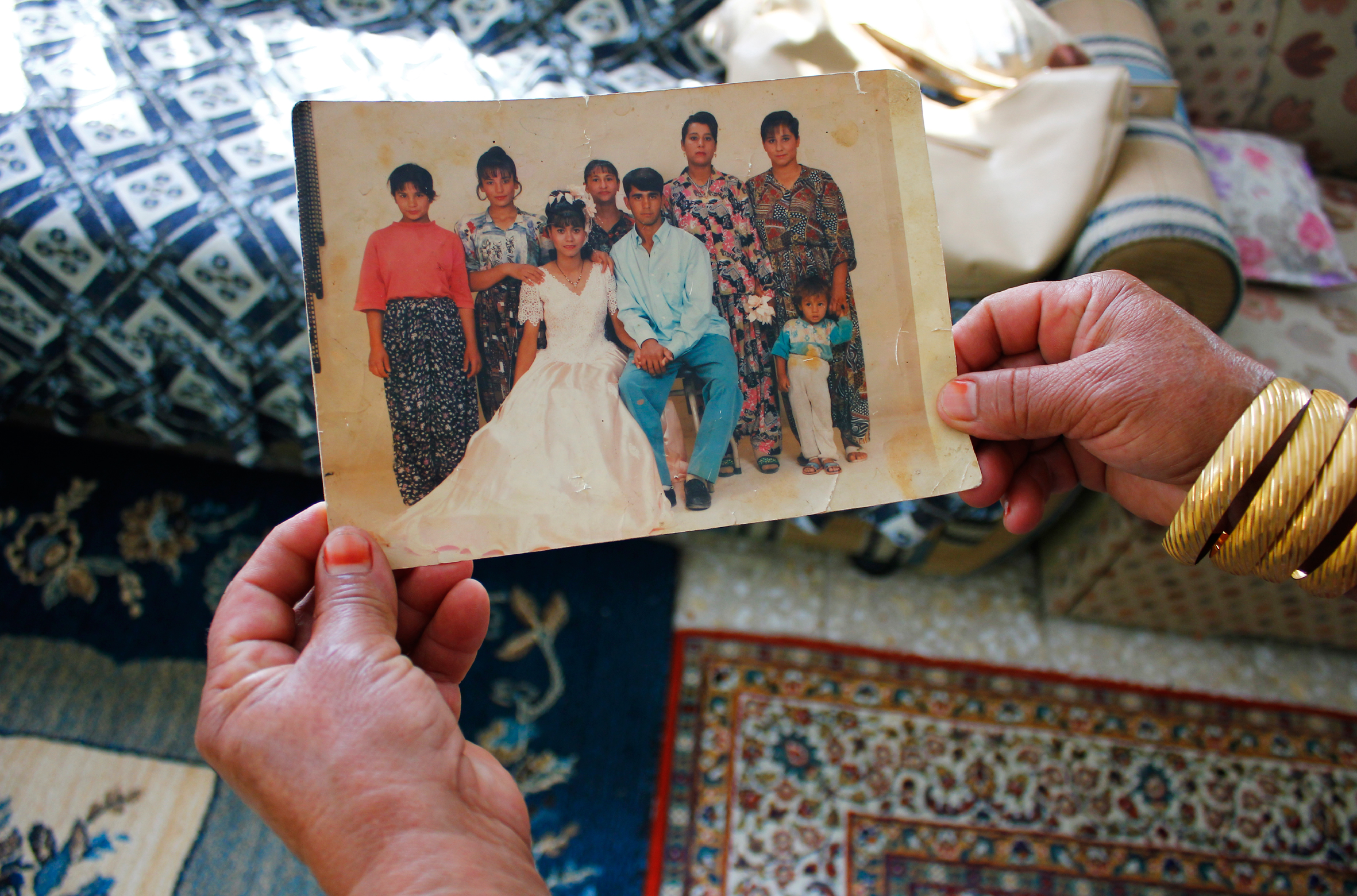 One photo project focused on a Roma family. (Photo courtesy of the BAK project)