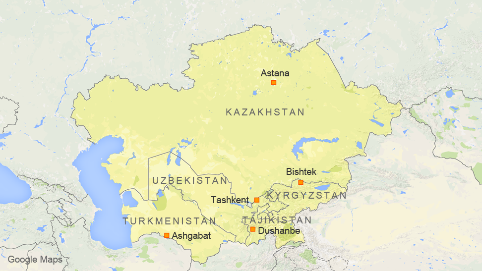 Secretary of State John Kerry's Trip to Central Asia, Nov. 1 – 4, 2015