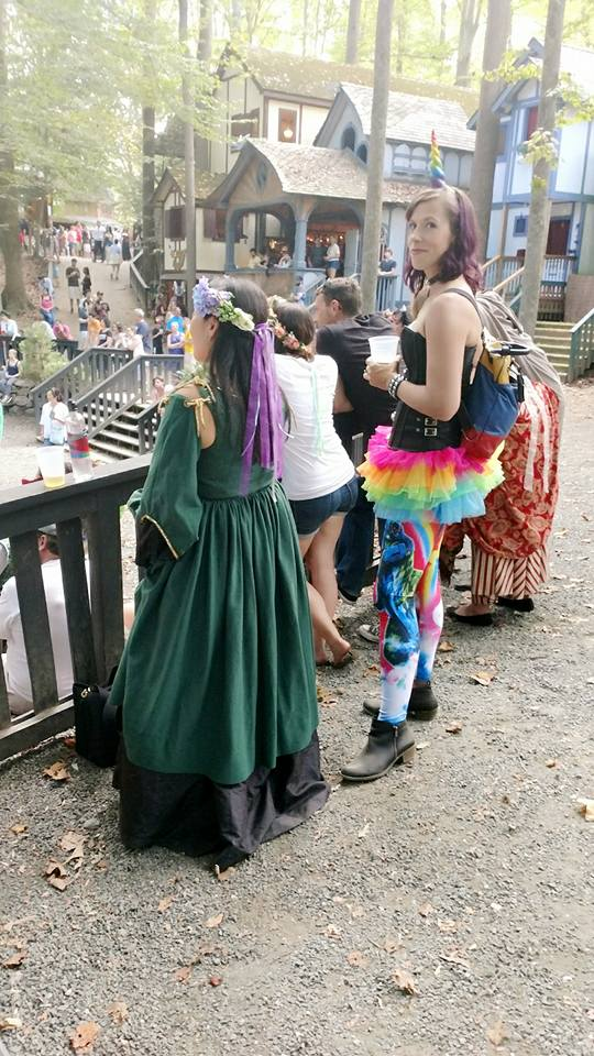 """Carla Rountree posted """"me too"""" on her Facebook page in light of an unwanted exchange with a man while attending the Maryland Renaissance Festival. (Photo courtesy of Carla Rountree)"""