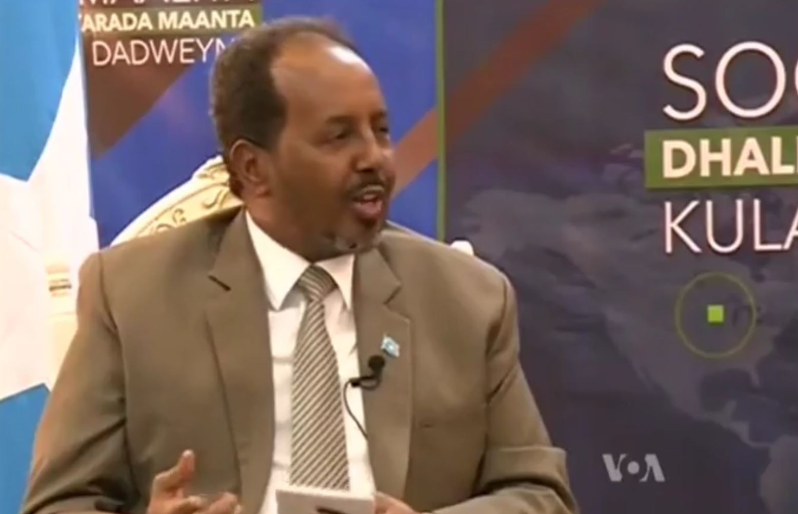 "Somalia President Hassan Sheikh Mohamoud tells a U.S. teenager, ""You can come back to Mogadishu -- nothing will happen to you."""