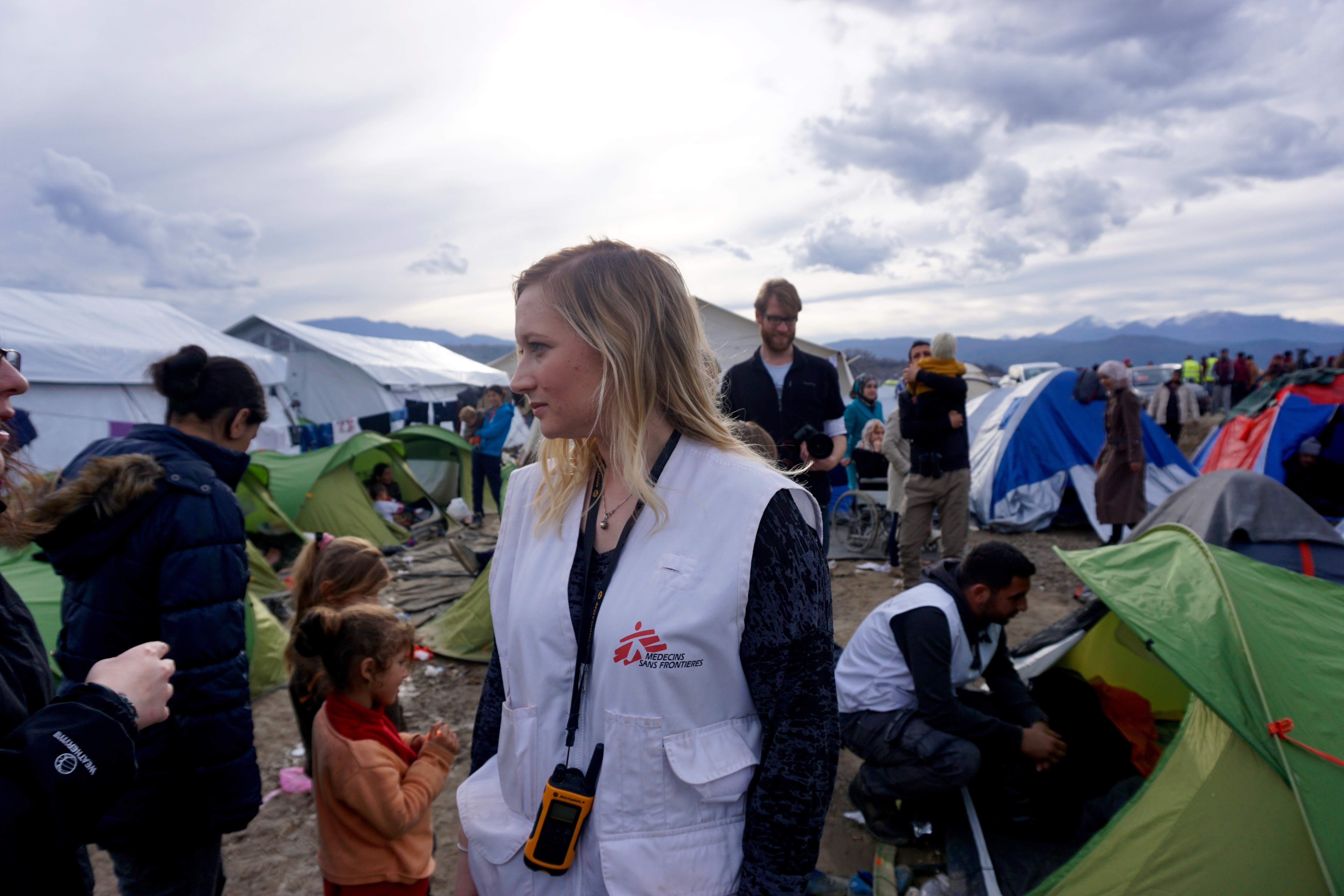 MSF Spokesman Gemma Gillie says the French charity can''t continue without more international NGOs helping with more resources. She says European governments bear responsibility but are not doing enough. (J. Dettmer)