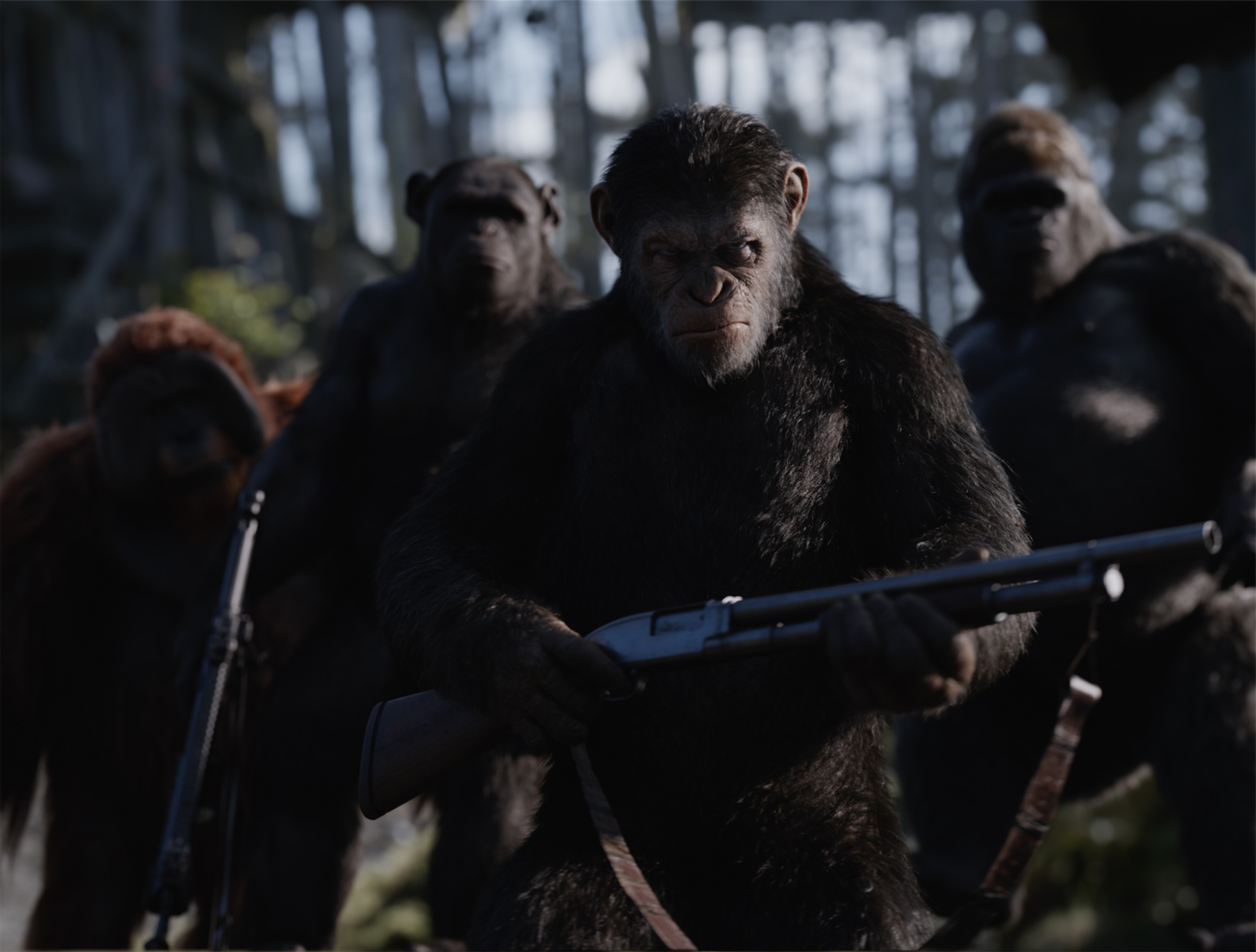 """Andy Serkis plays Simian Caesar in """"War for the Planet of the Apes."""" (Courtesy 20th Century Fox)"""