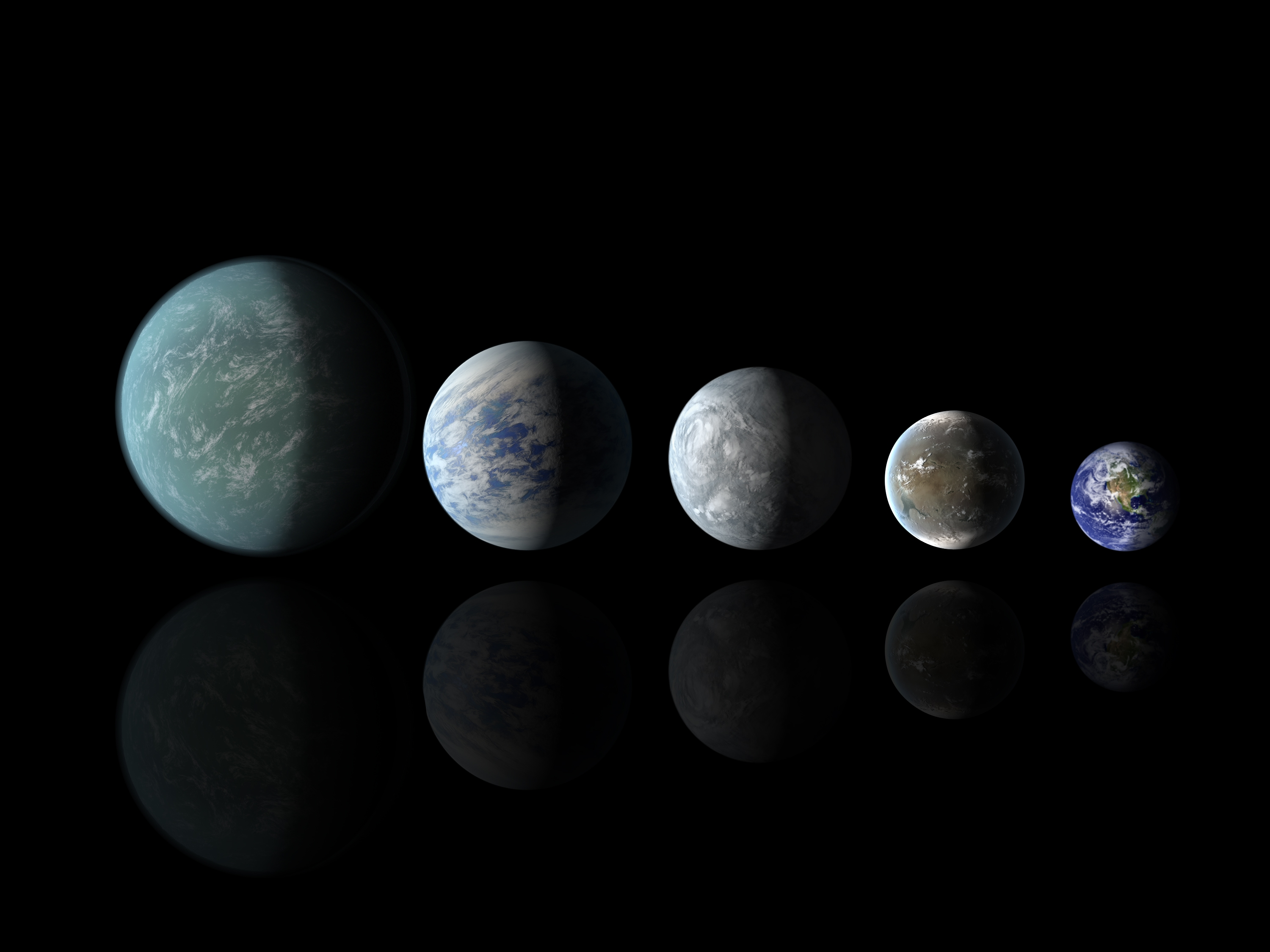 distant planets that may contain life - HD3000×2250