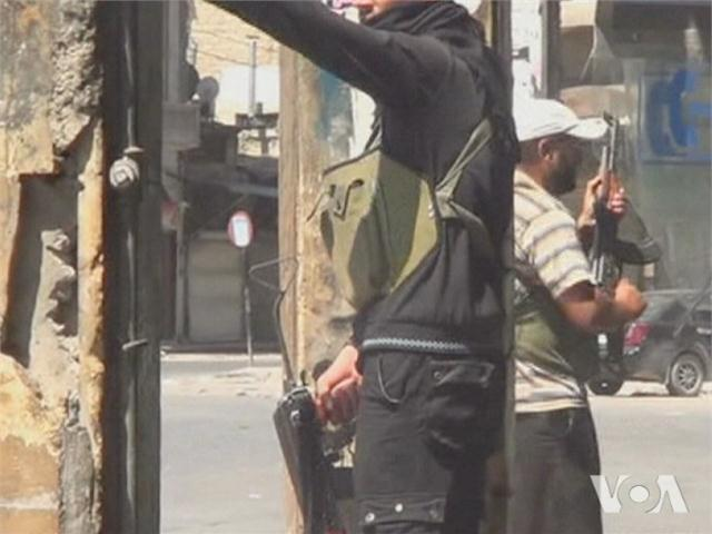 Related video of violence in Aleppo