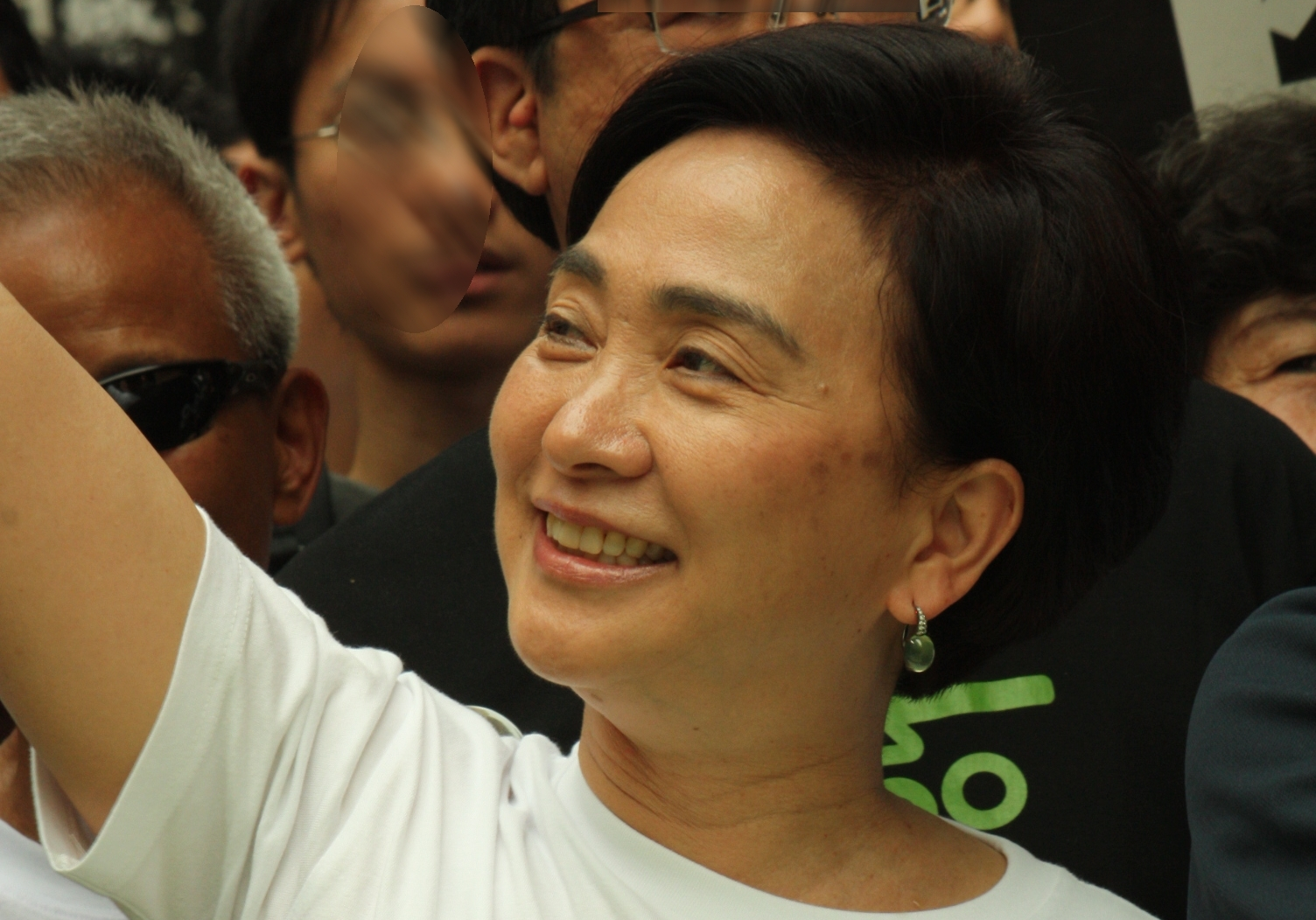 Emily Lau, a Hong Kong politician and member of the Legislative Council in the geographical seat of New Territories East.