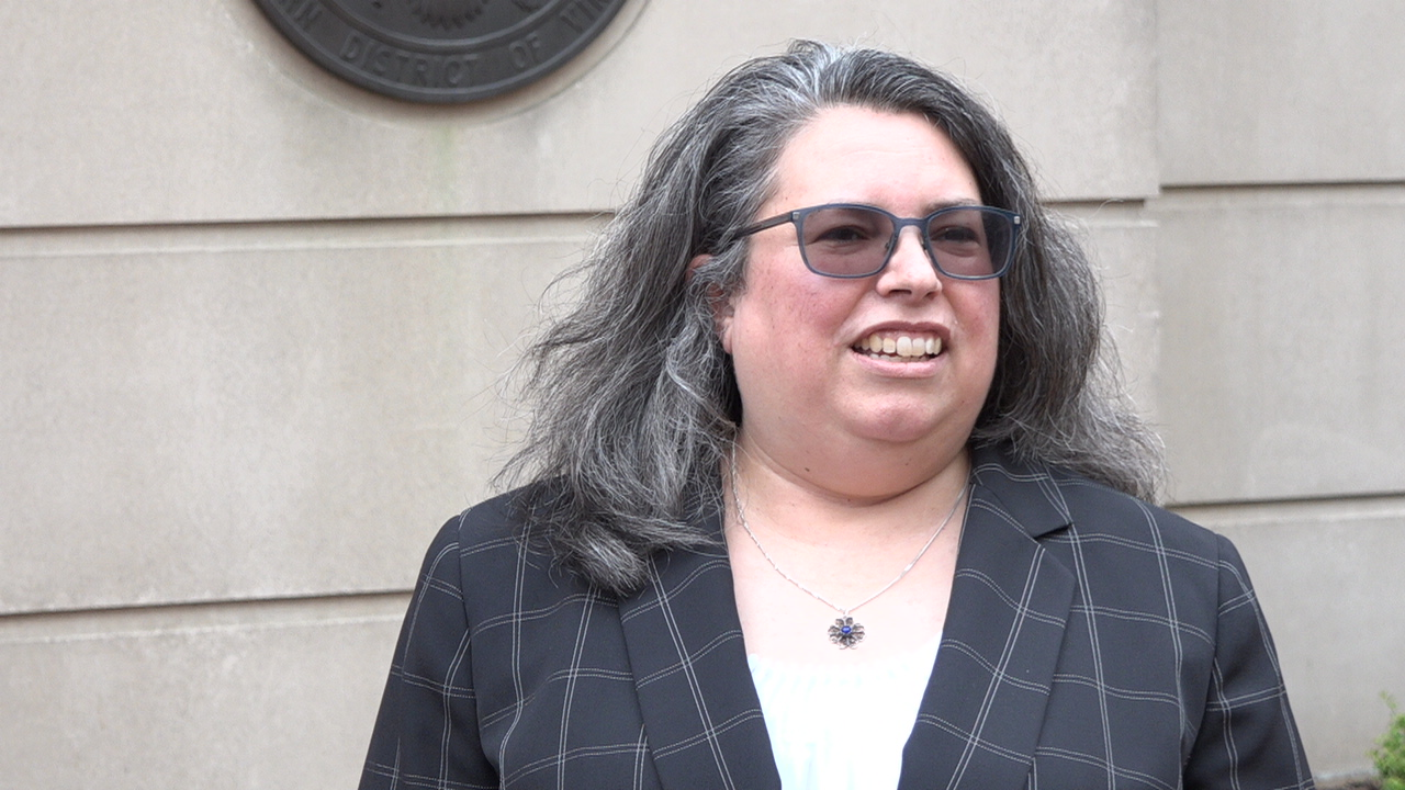 Kathy Roberts, a lawyer with the San Francisco-based Center for Justice and Accountability, told VOA her client and organization were happy with verdict, May 21, 2019, in Alexandria, VA.