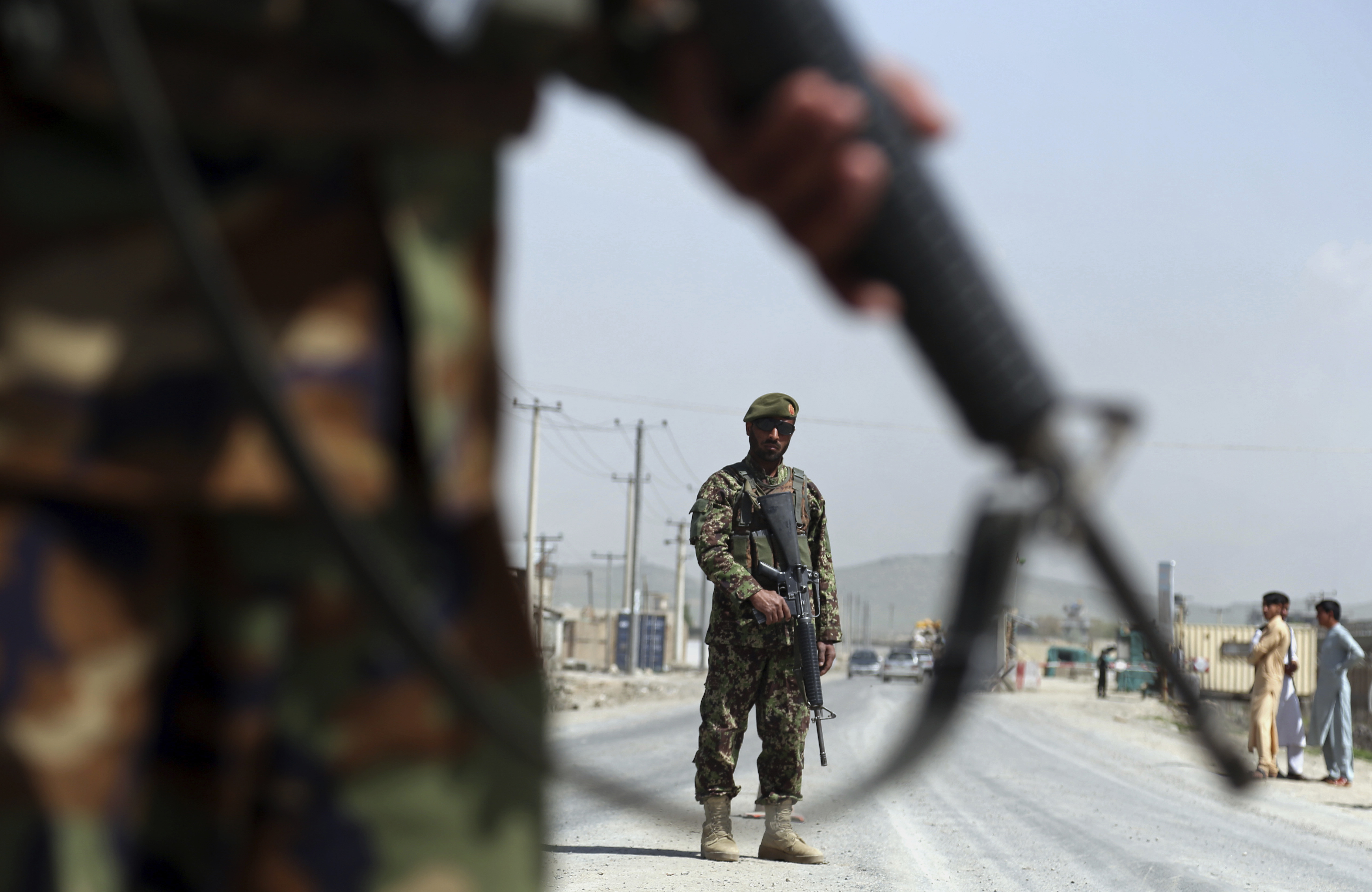 US Stops Collecting Data Showing Afghan Government Losing