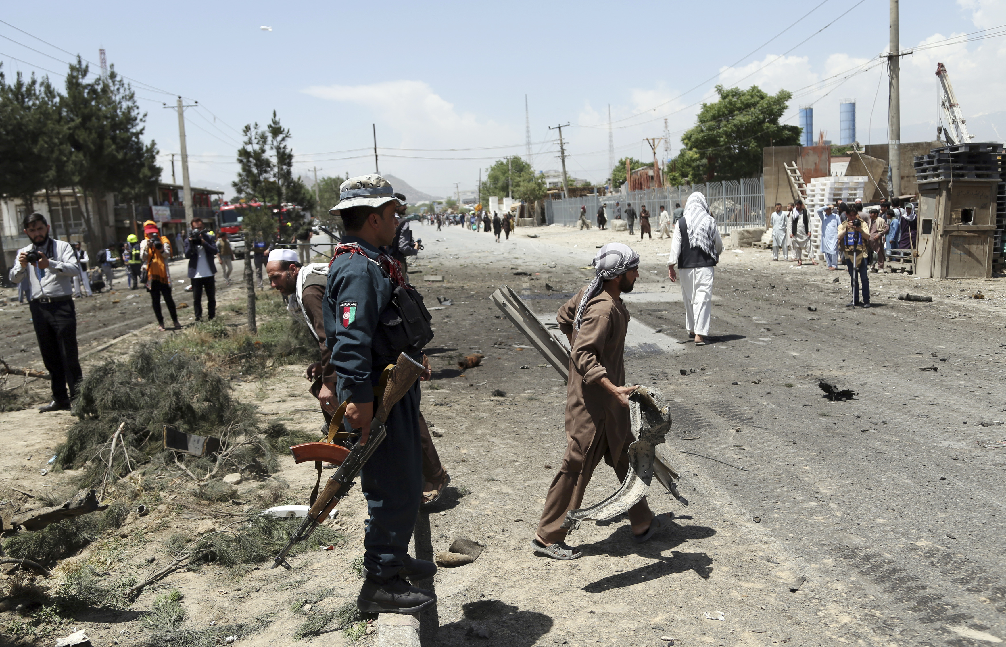 Taliban Bomber Targets US Military Convoy in Kabul