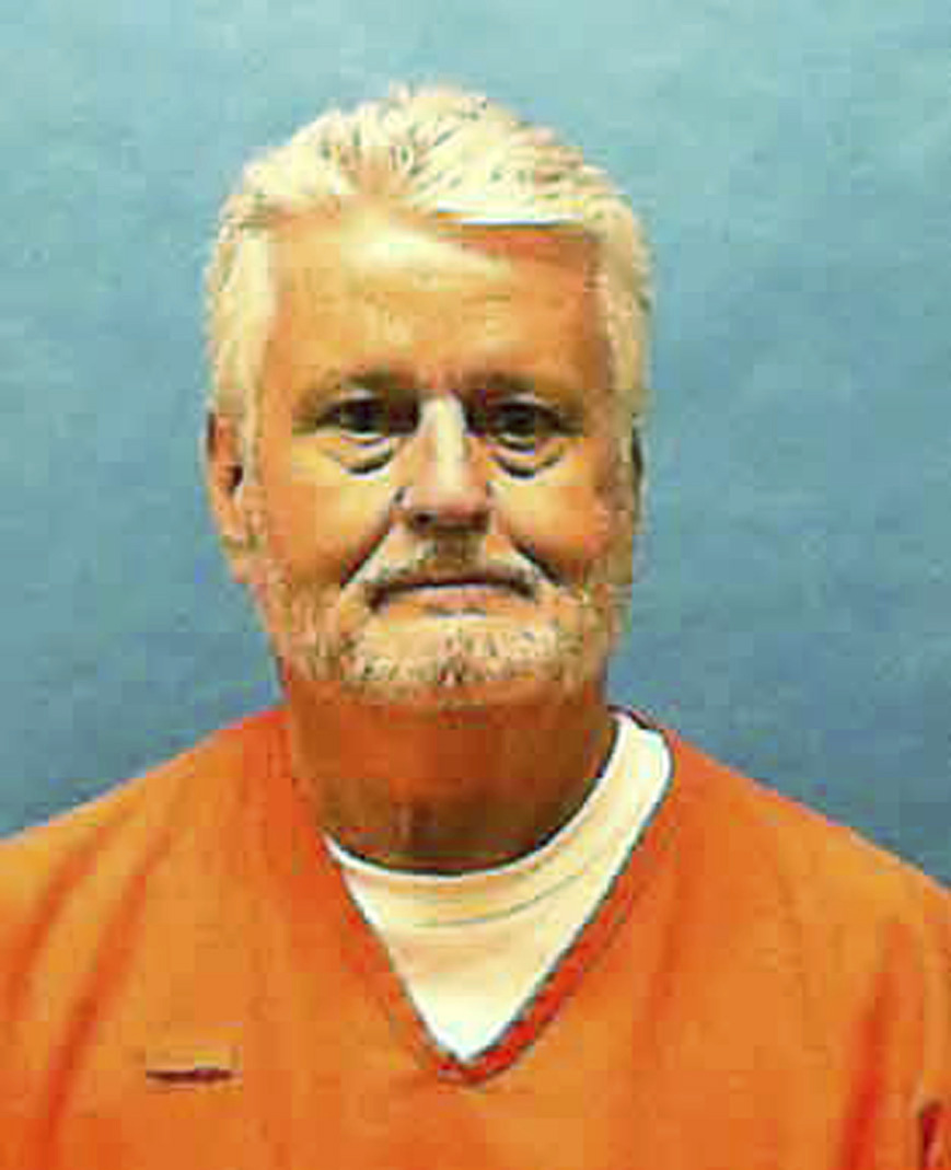 This photo made available by the Florida Department of Law Enforcement shows Bobby Joe Long in custody. Long was executed May 23, 2019.