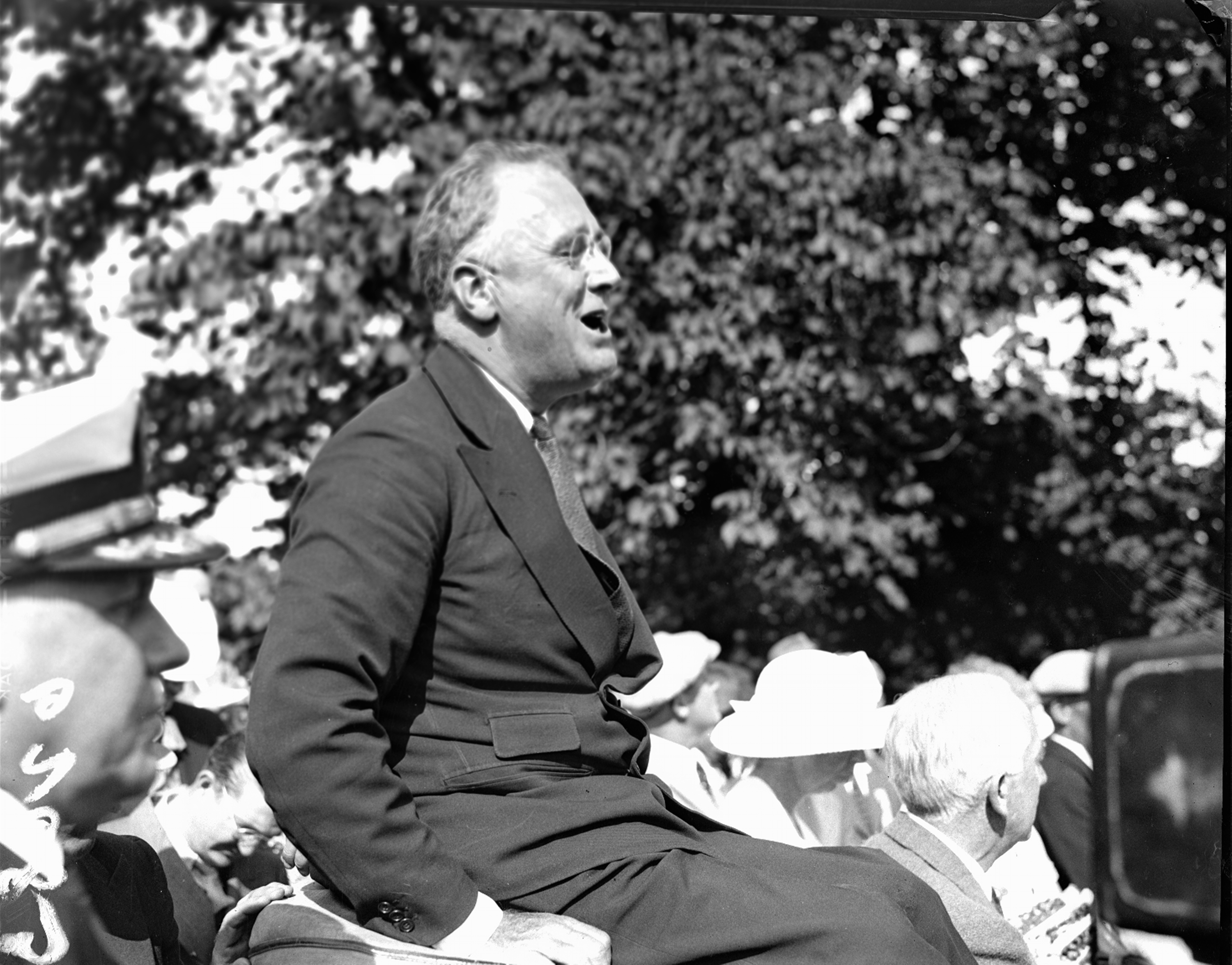 President Franklin D. Roosevelt is pictured at Campobello Island, New Brunswick, Canada, date unknown.