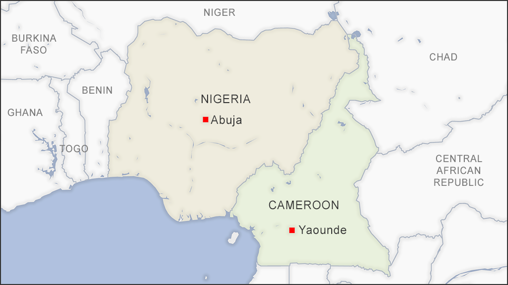 Nigeria and Cameroon